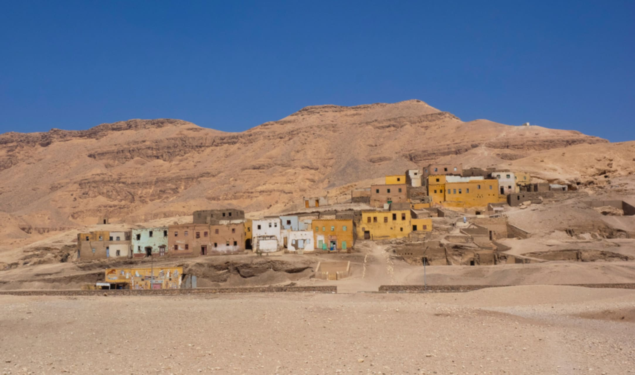 Luxor - The Relocation Of Qarnah  Village