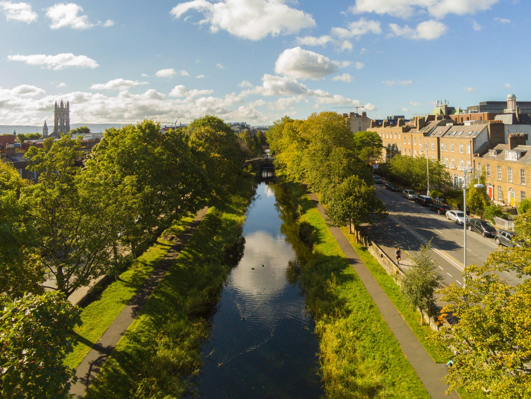 Dublin - A Walk Along the Canal