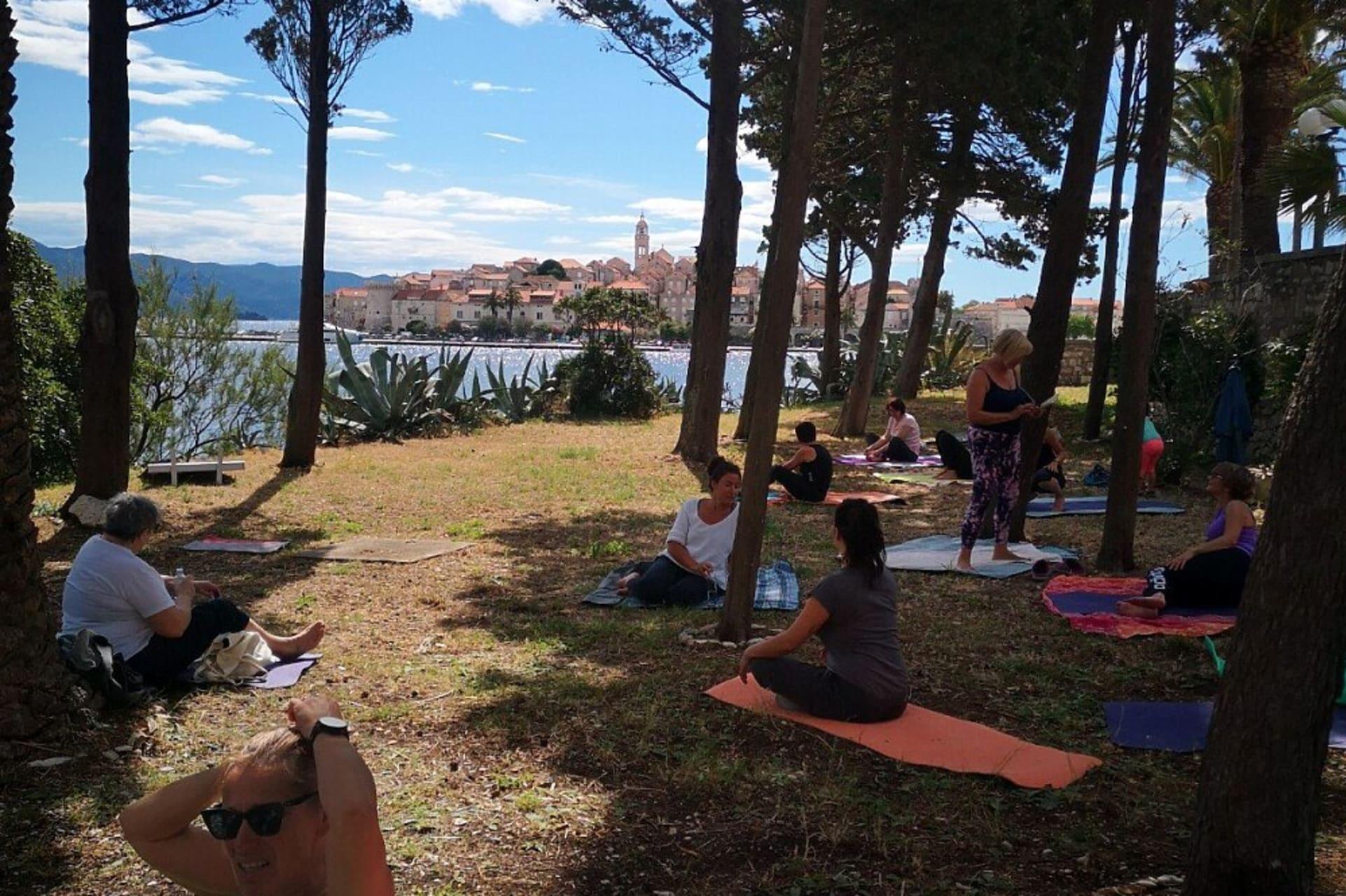 Korcula - Yoga Day in Korcula