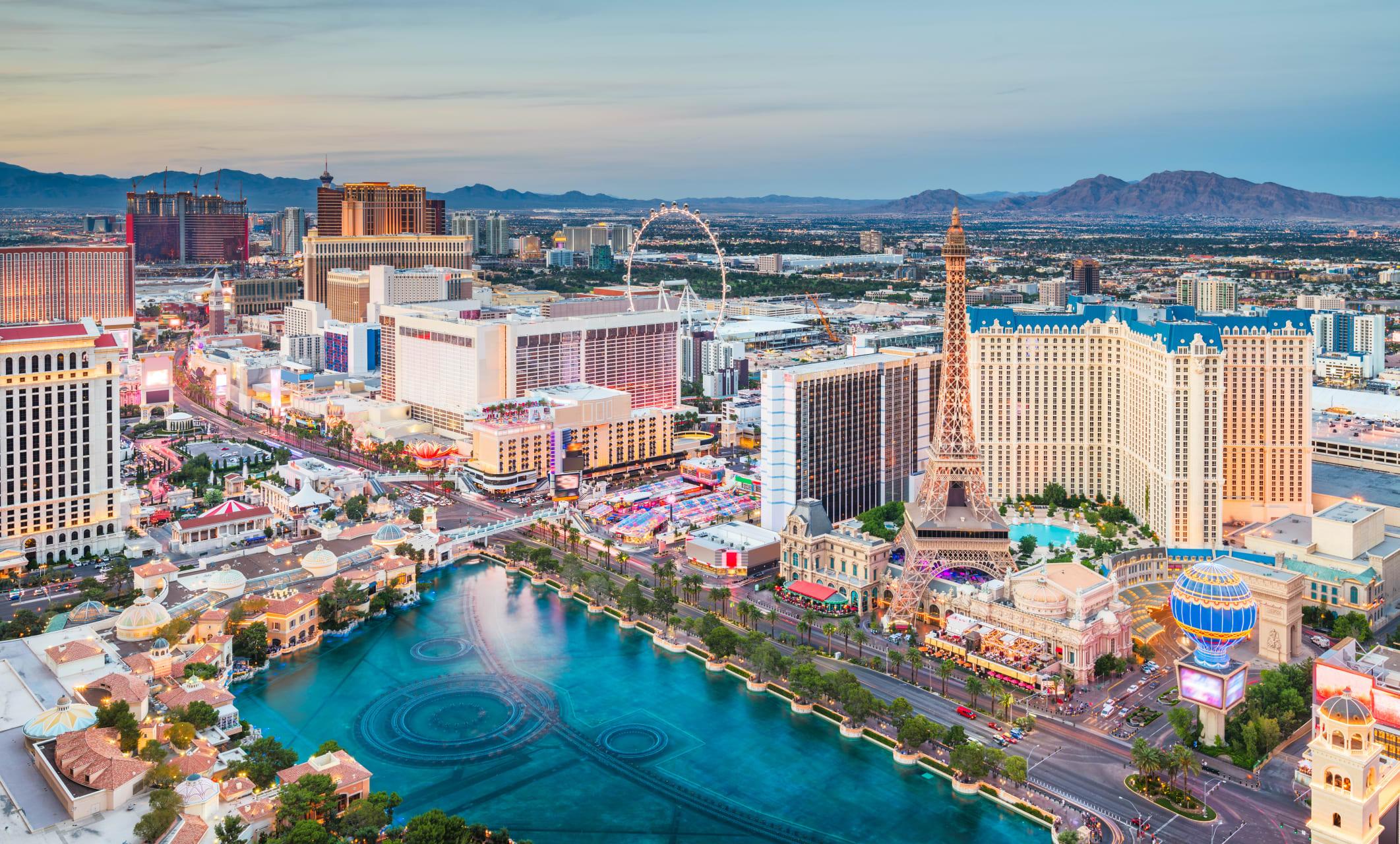 Las Vegas - Modern Las Vegas: Spectacles on the Strip
