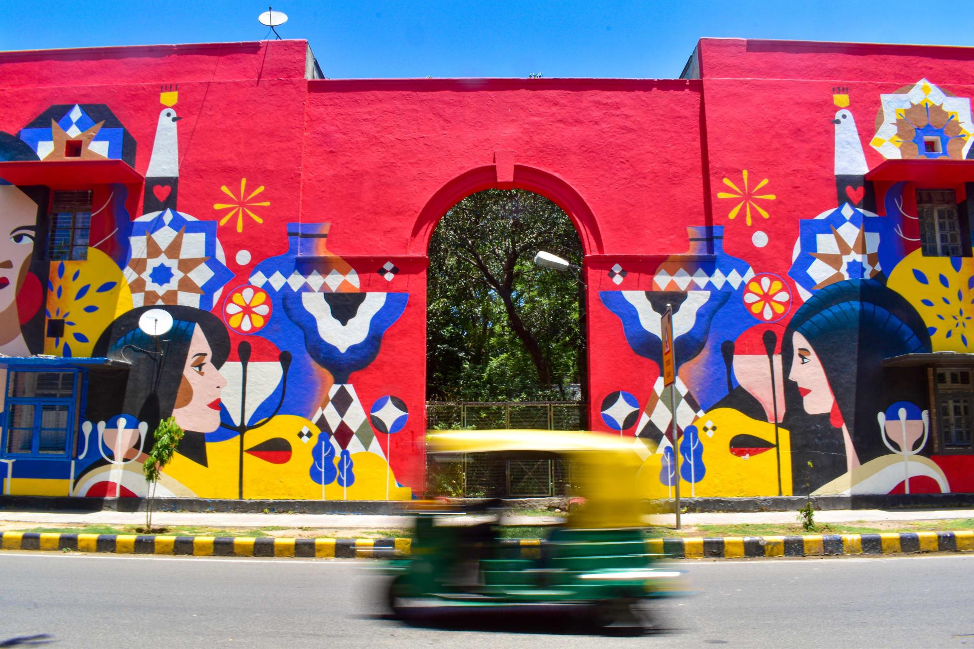 Delhi - A Vibrant Glimpse of Delhi