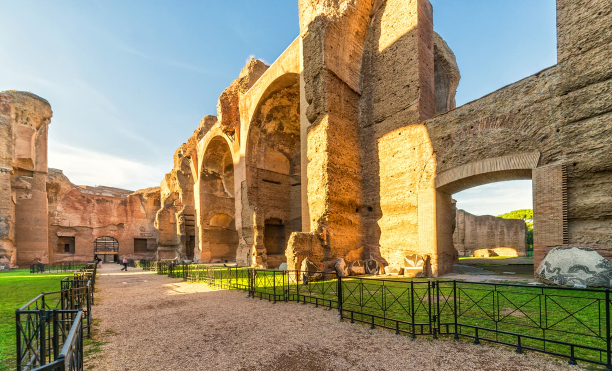 Rome - Caracalla's thermal baths