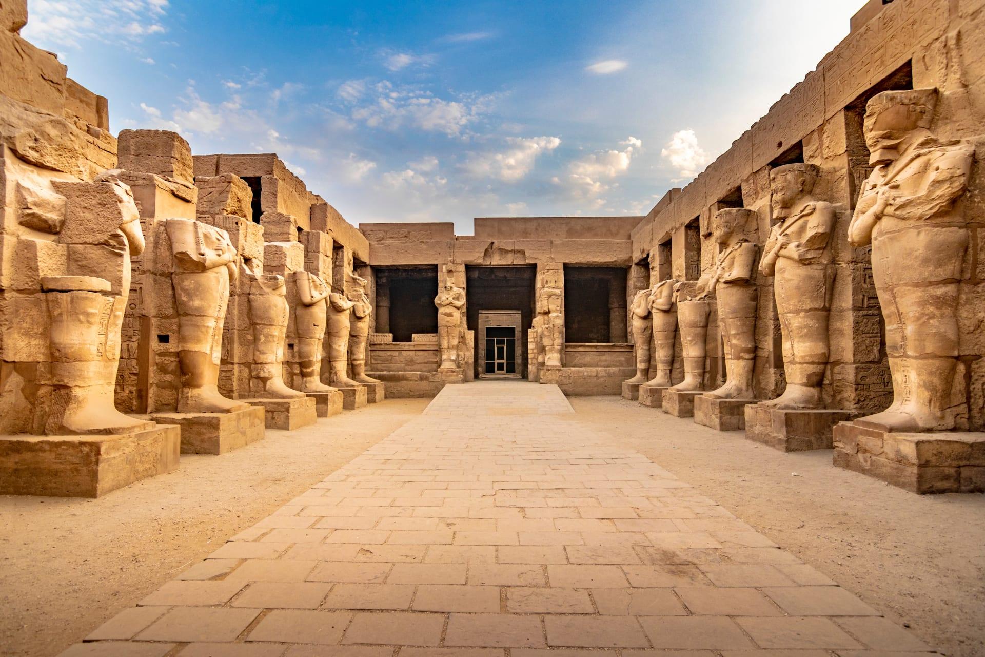 Luxor - Silent Tour Of Karnak Temple