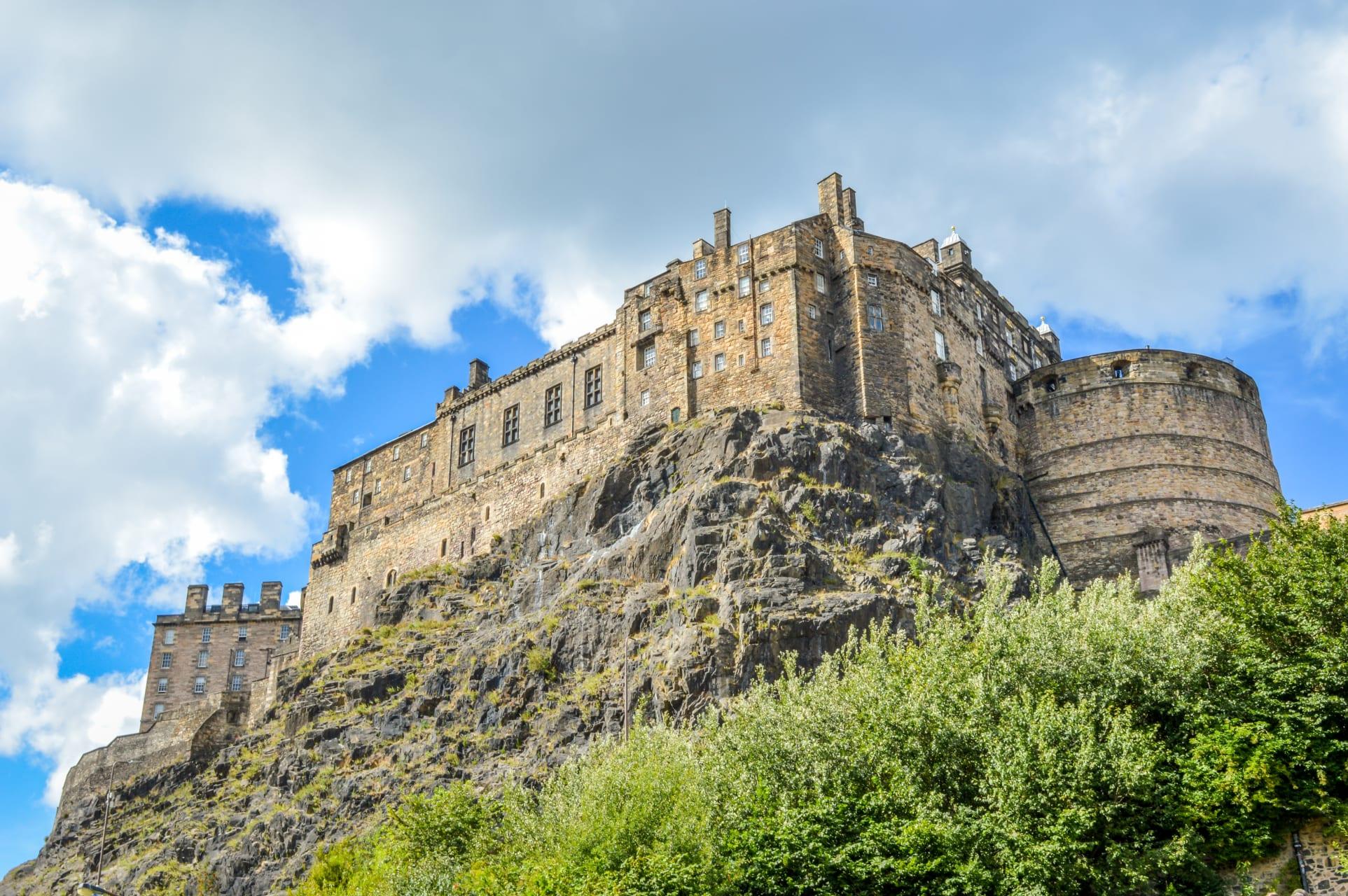 Edinburgh - Edinburgh Castle and more from Grassmarket