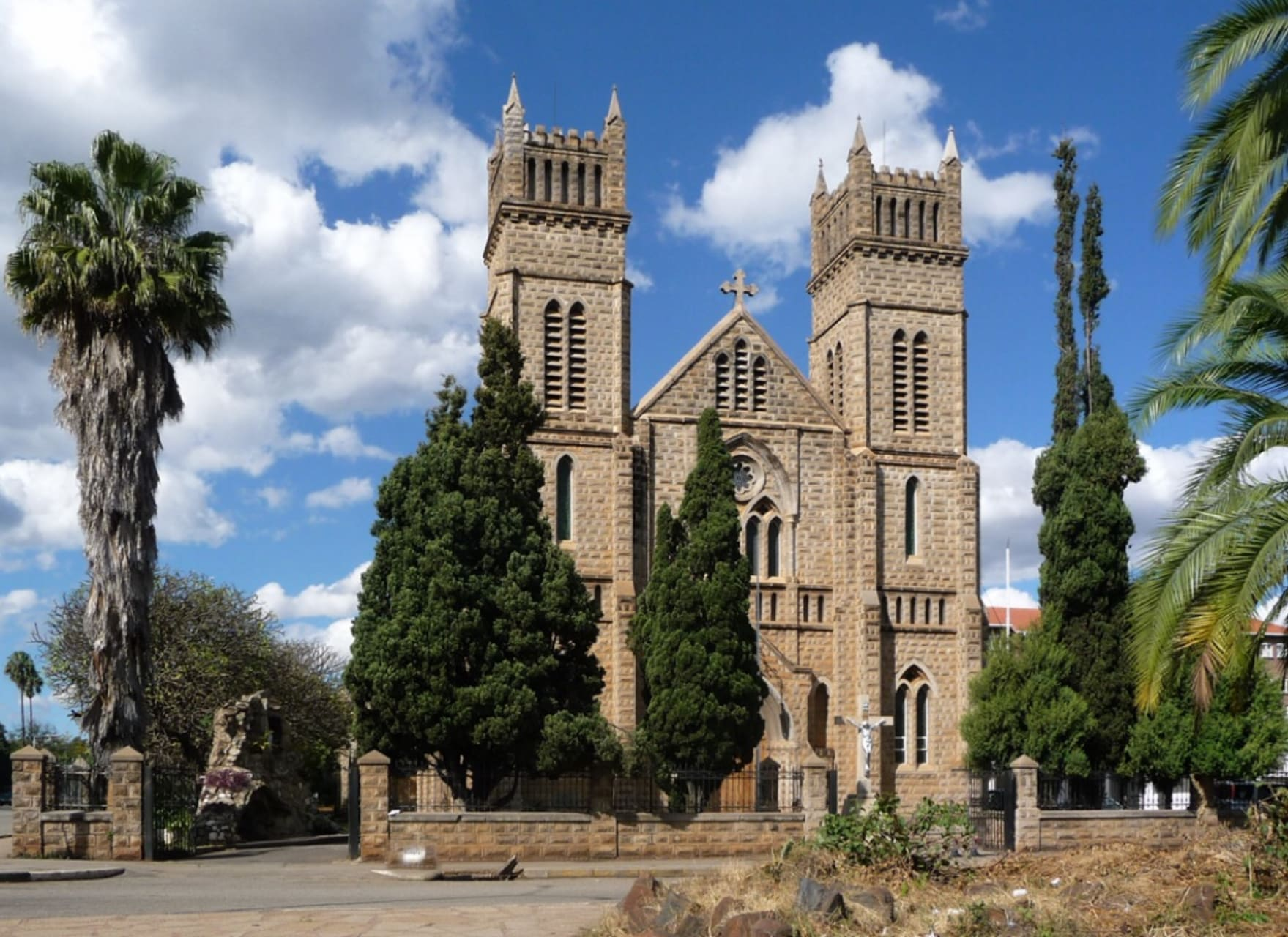 Harare - Stunning building reminisce of Medieval Times :Cathedral of Sacred Heart