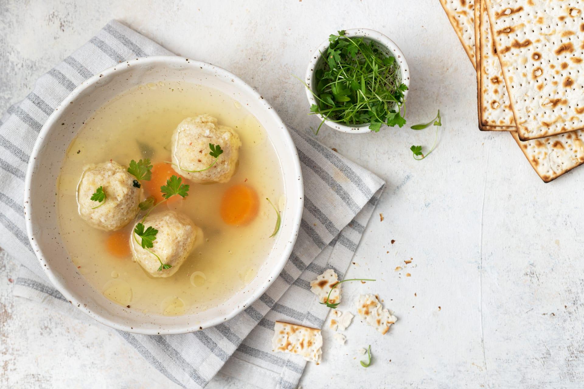 Calgary - A Mother's Love - Classic Chicken Soup and Matzah Balls