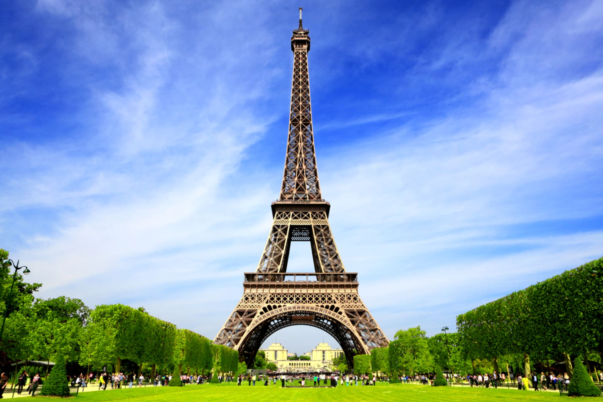 Paris - The Eiffel Tower and the Trocadero