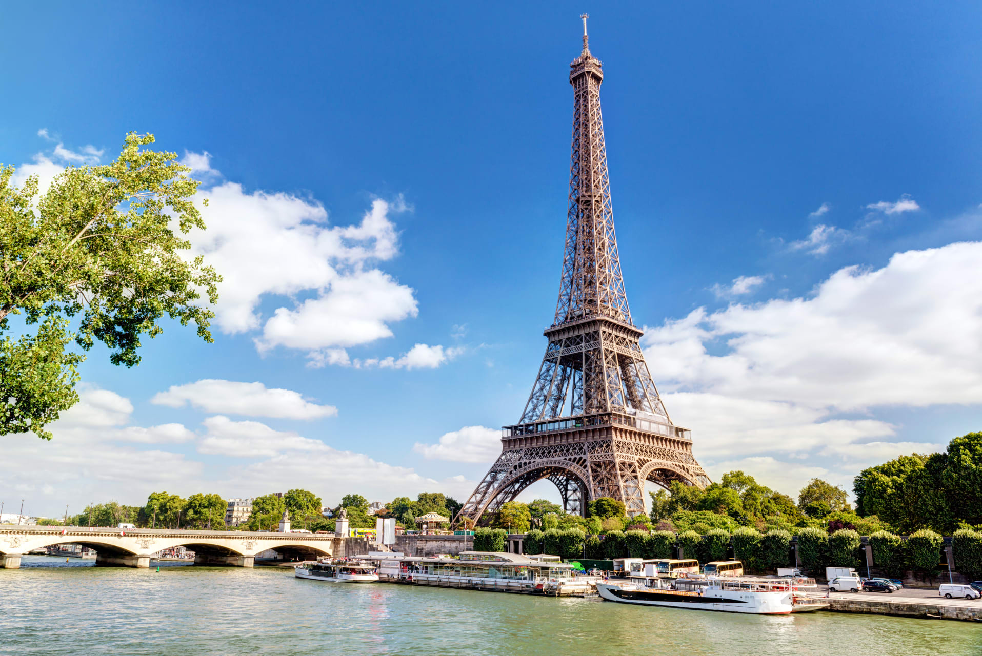 Paris - Over The Water: On the River Seine (The Right Bank and the Eiffel Tower)