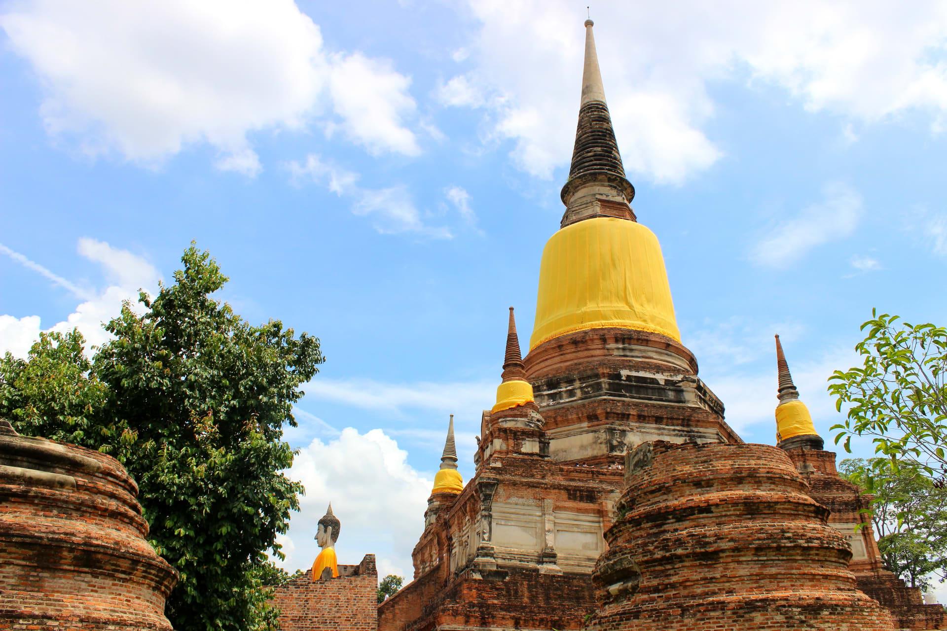Ayutthaya - Wat Yaichaimongkhon in Ayutthaya