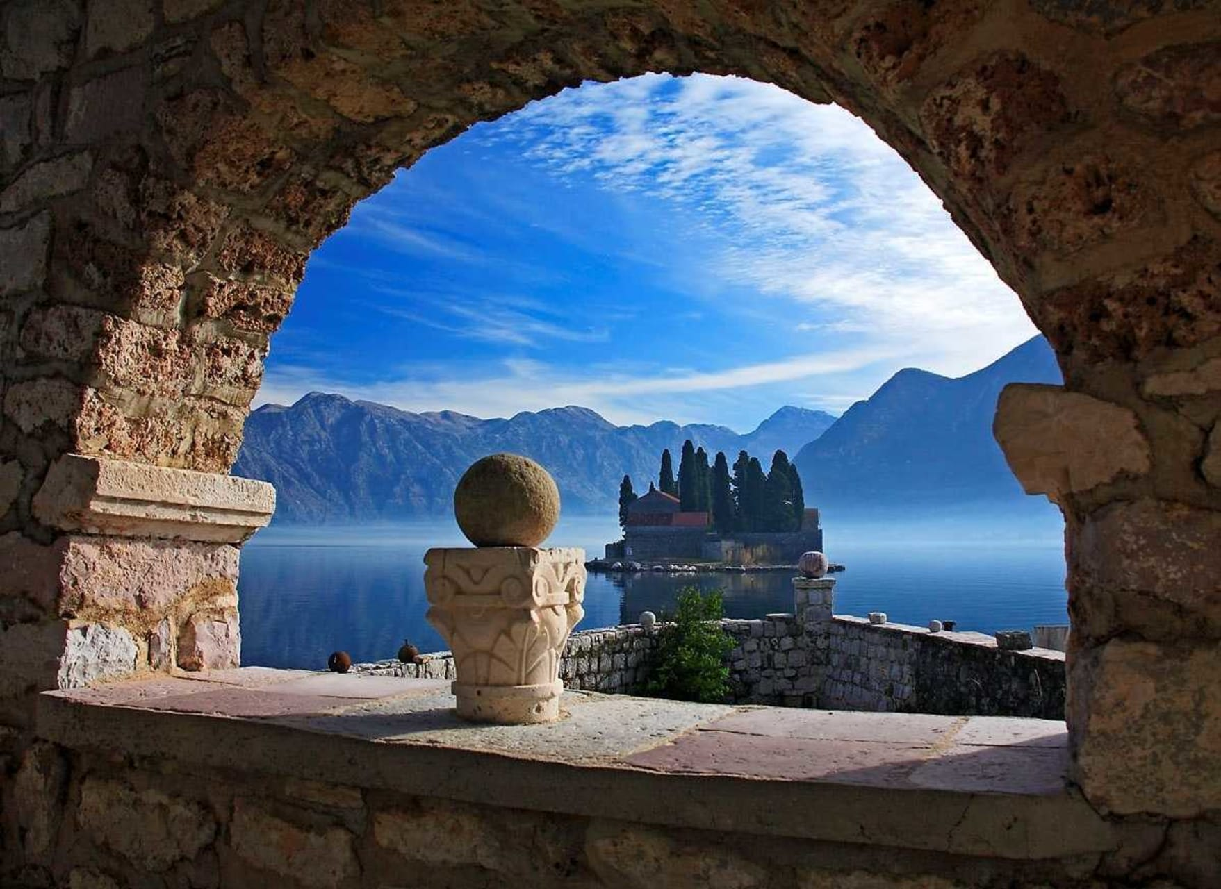 Perast - Get on a Boat and Discover the Secret of Our Lady of the Rock Church-Island