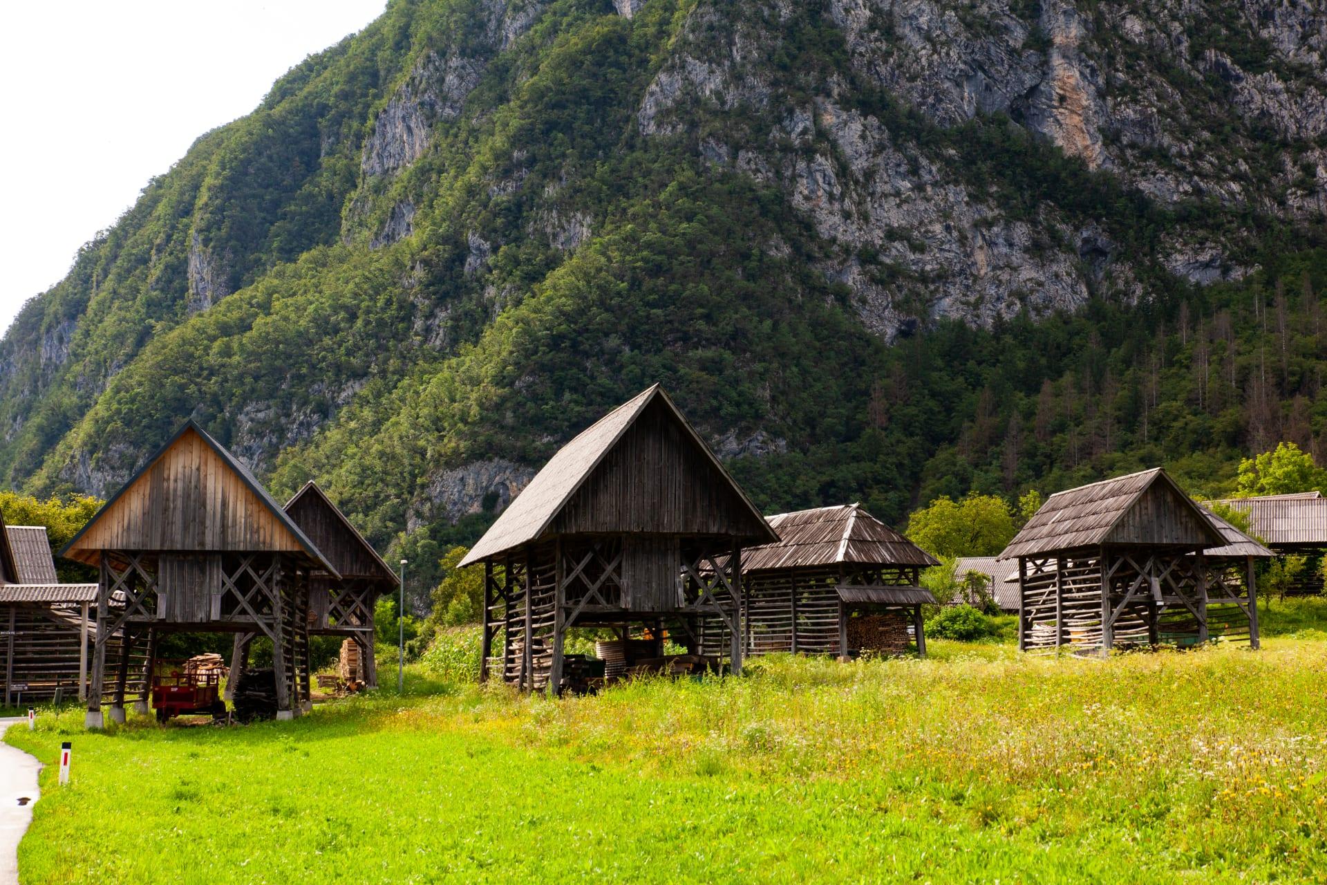 Bohinj - Studor, the pretty Alpine village