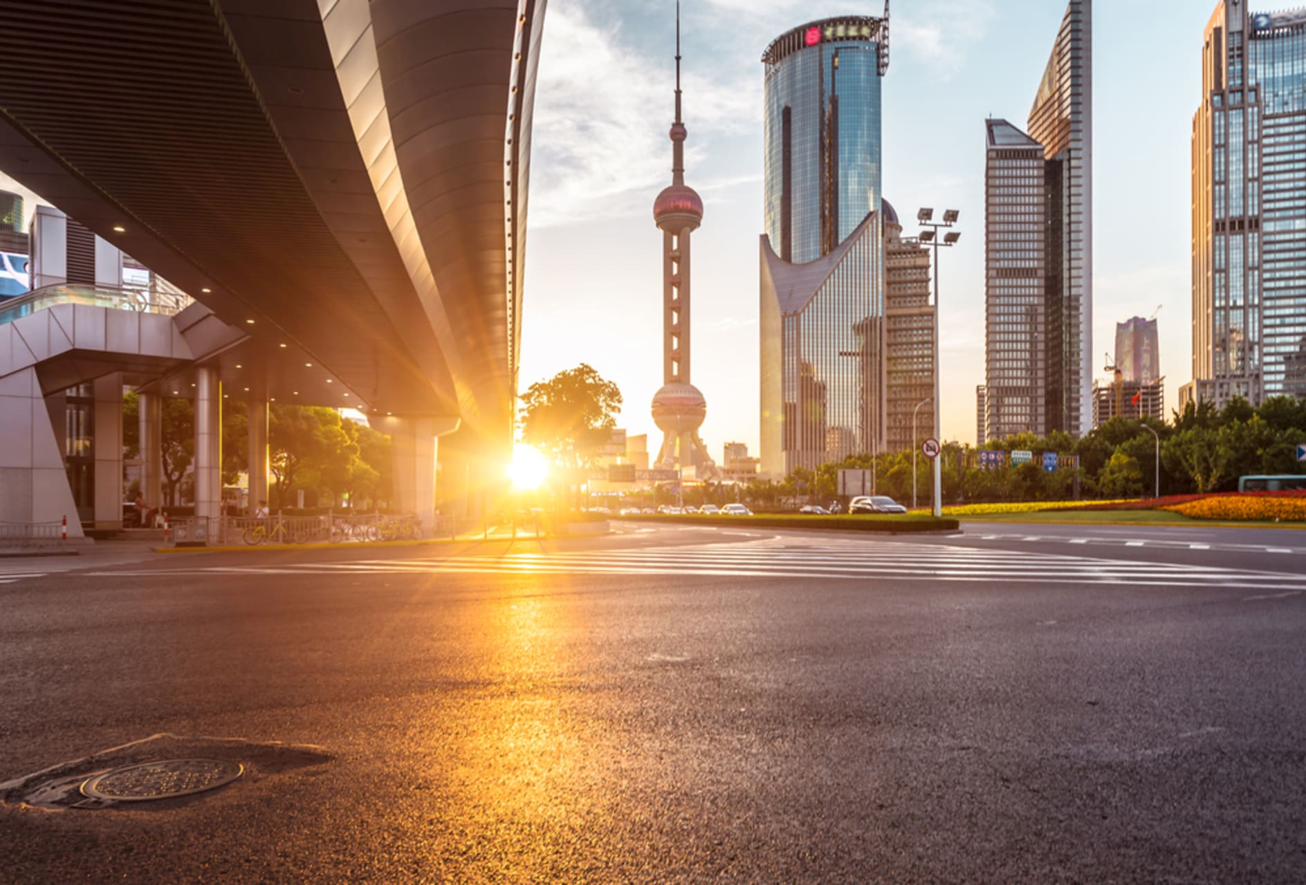 Shanghai - Shanghai's Lujiazui District: Must-see Modern China