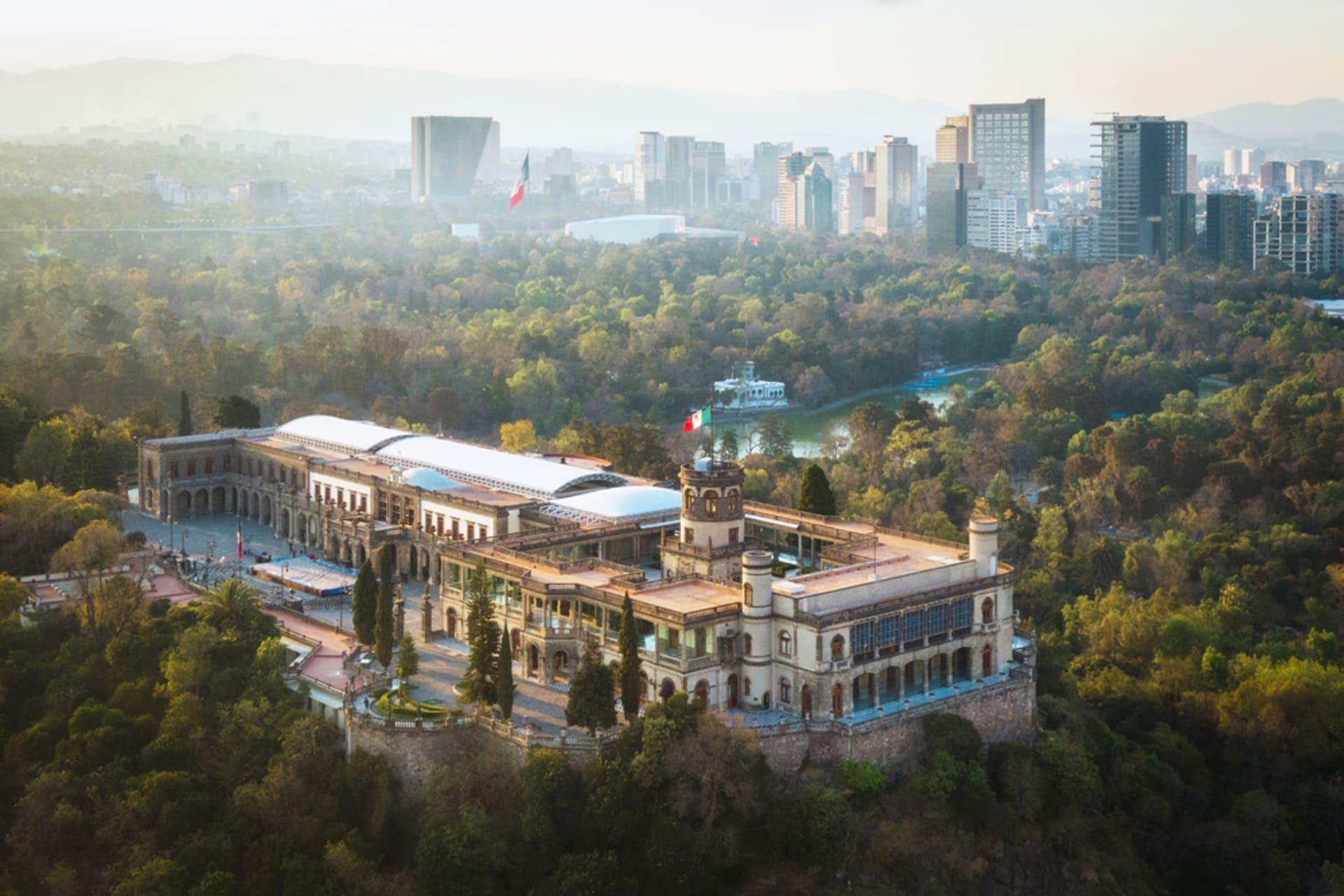 Mexico City - Chapultepec - the Lung of Mexico City