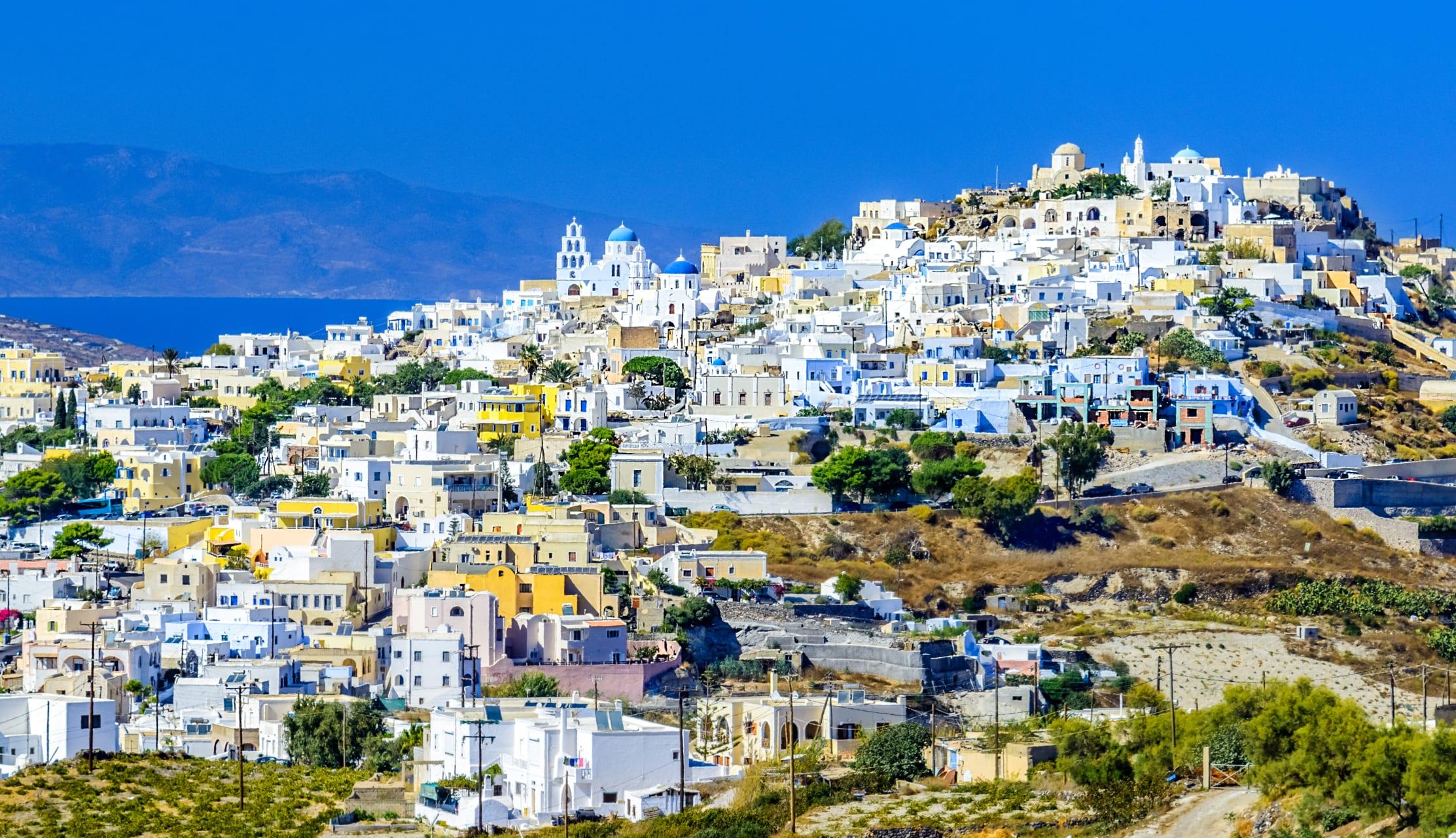 Santorini - Pyrgos: A Medieval Castle City in the Heart of Santorini