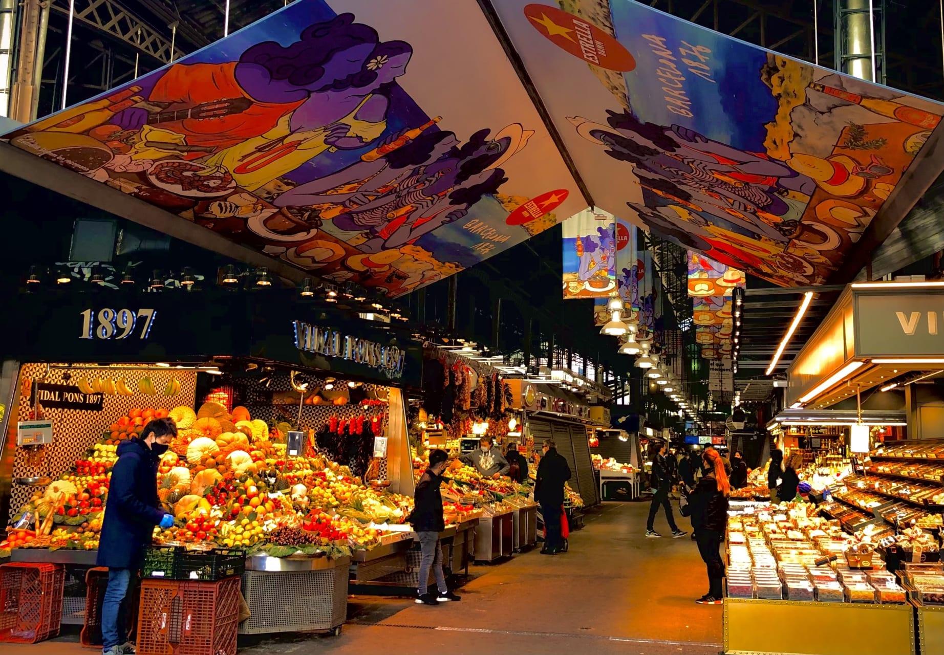 Barcelona - The Boqueria Food Market Experience