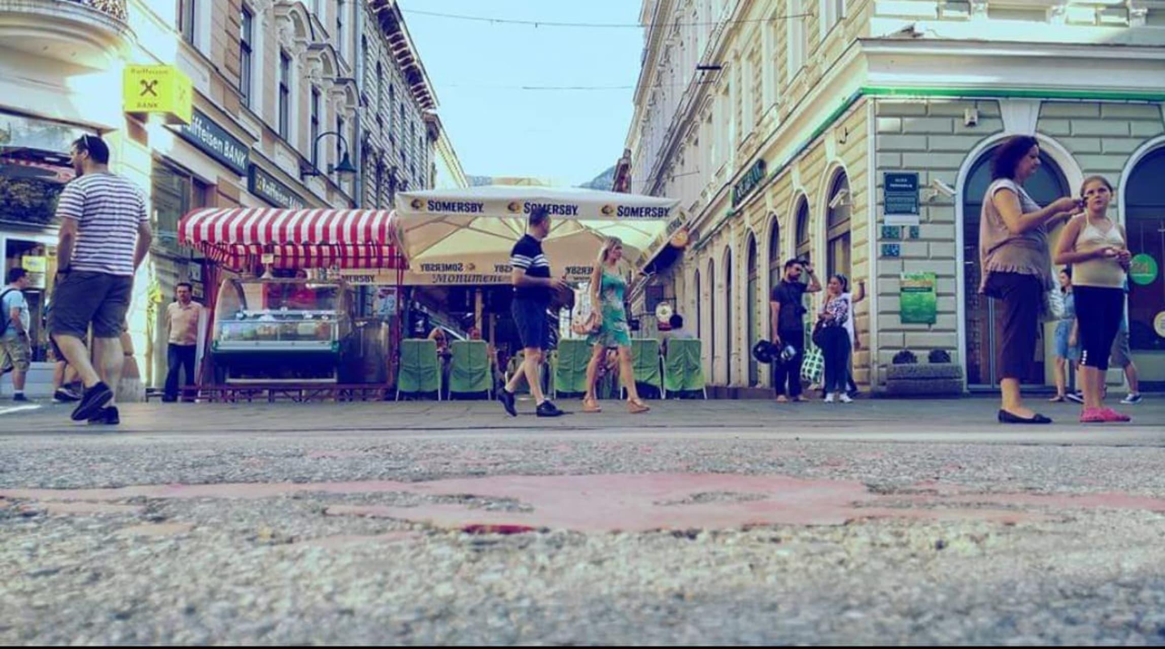 Sarajevo - Sarajevo War stories. Part One: The Sarajevo Roses
