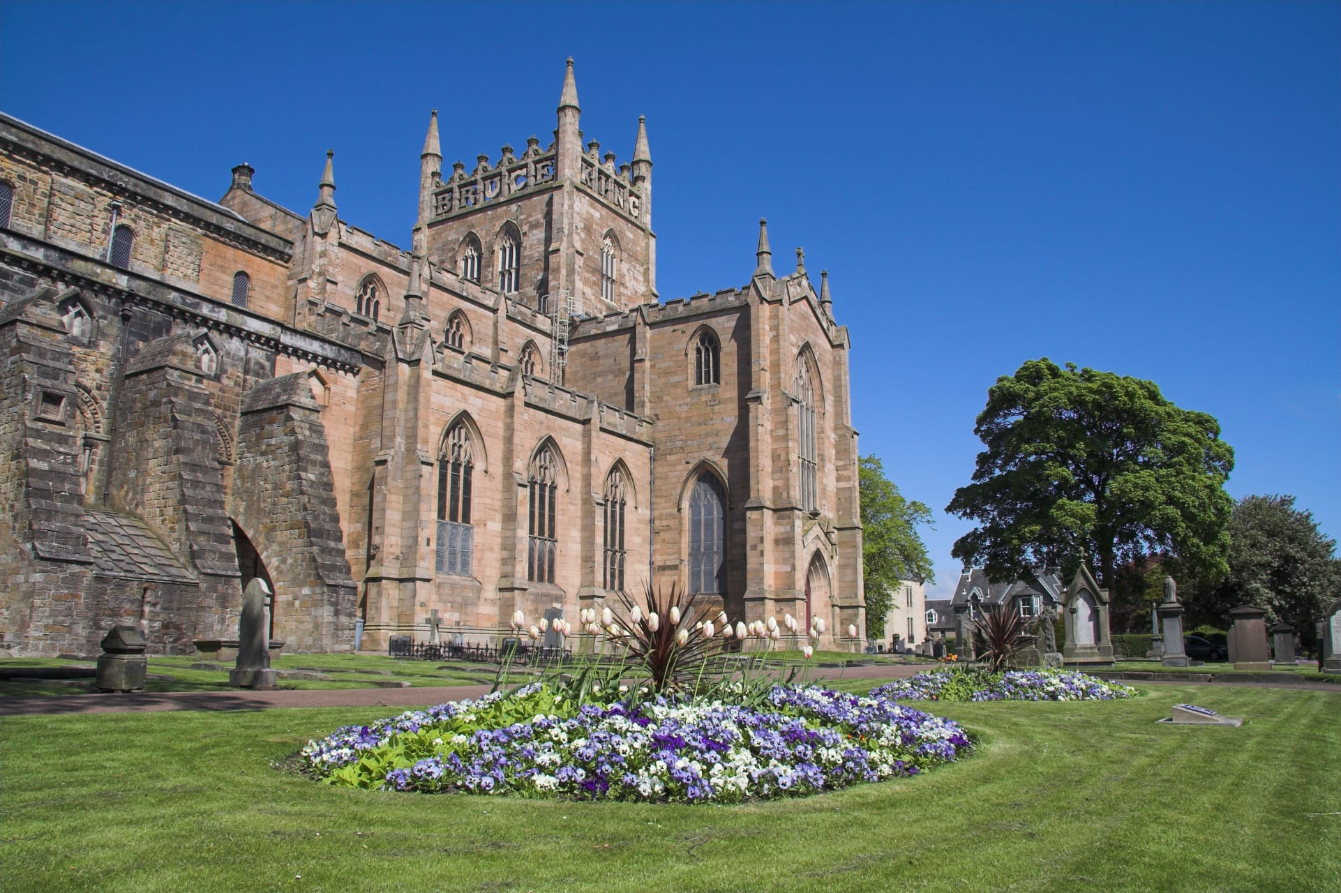 Central Scotland - Historic Dunfermline.