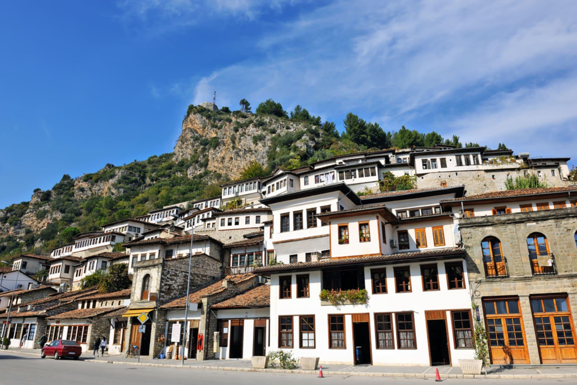 Berat - City of 1001 Windows - Neighborhoods of Mangalemi and Gorica - Part 2