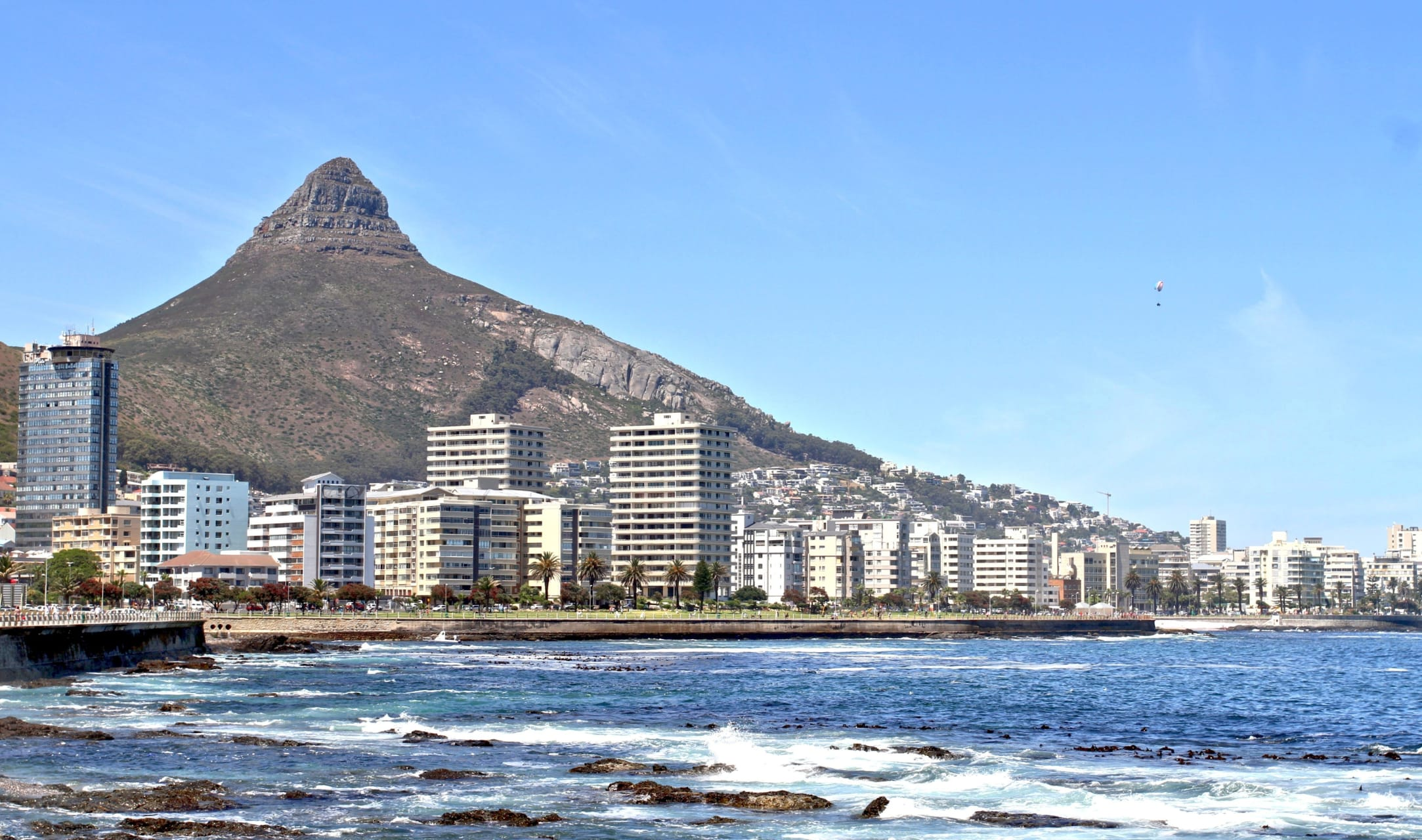 Cape Town - Cycling the Promenade