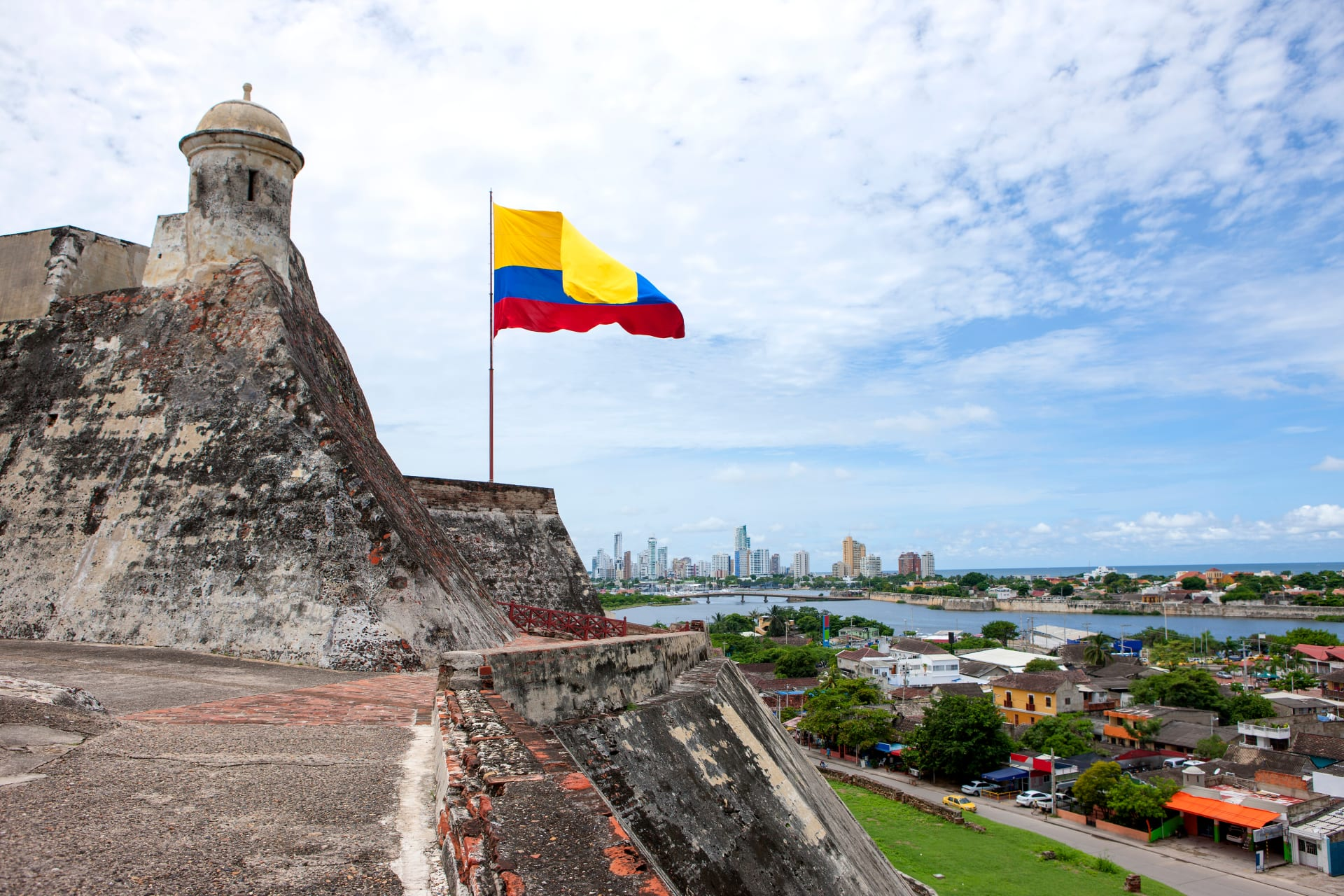 Cartagena - San Felipe Castle,  South America's Largest Spanish Fortification
