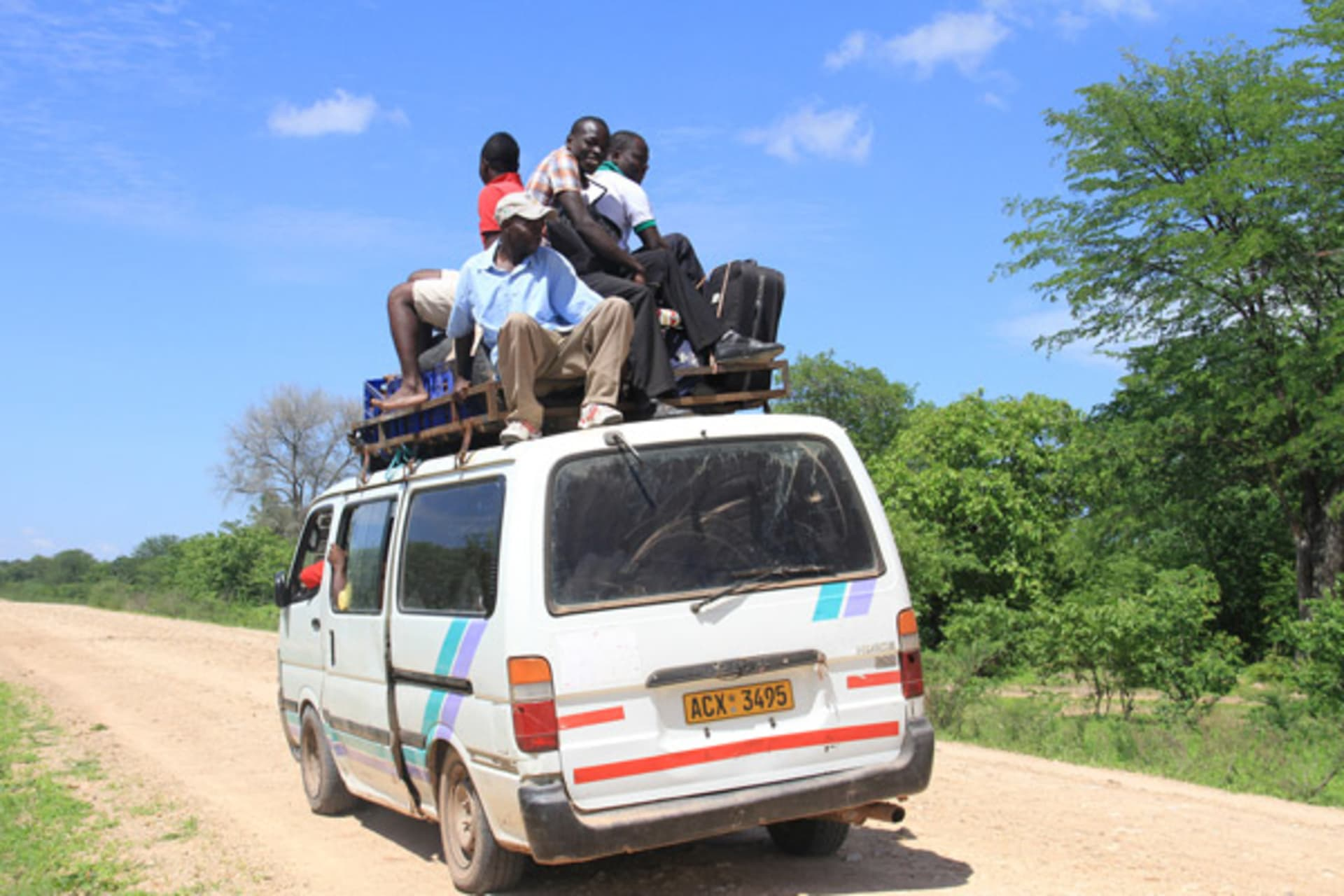 Harare - Hop on and off: Zimbabwean Combi aka Public Transport