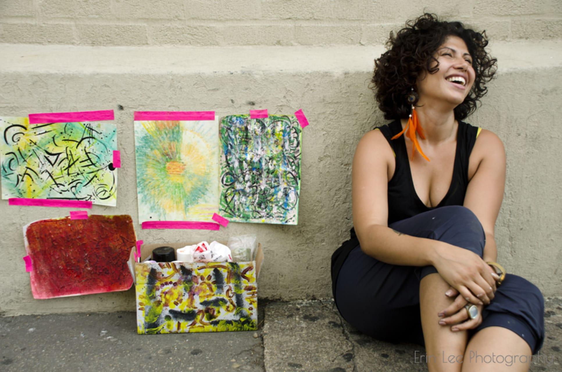Rio de Janeiro - Live Art Painting in Santa Teresa Neighborhood