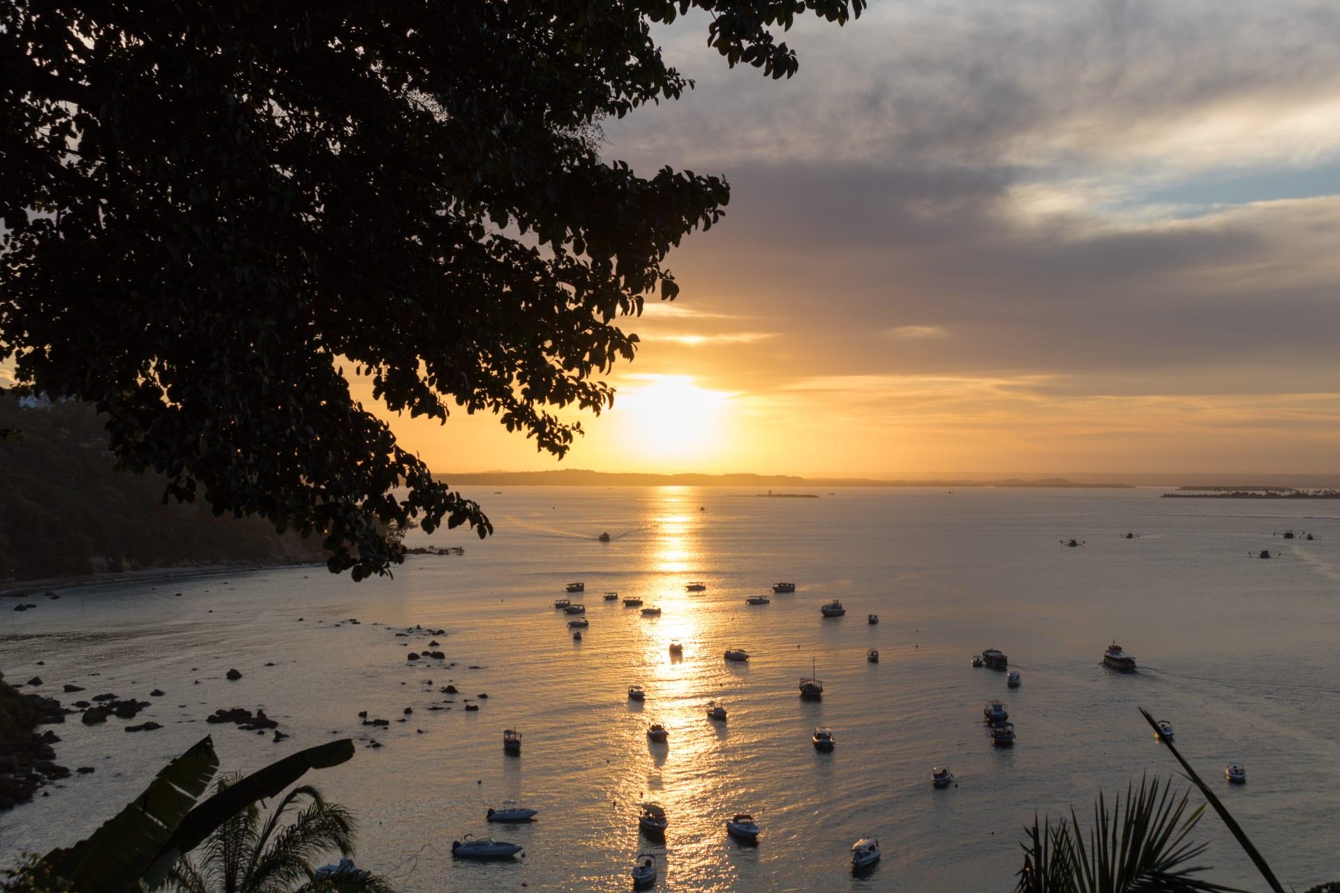 Morro de São Paulo Island - Sunsets in Morro de Sao Paulo - Enjoy the best of Bahia, Brazil