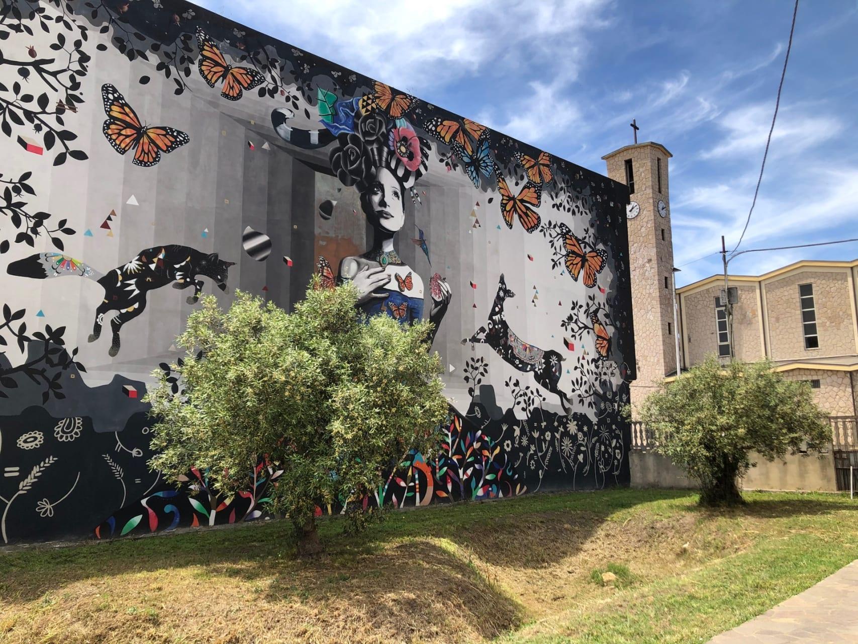 Sardinia - San Gavino Monreale, the Homeland of Sardinian Contemporary Street Art