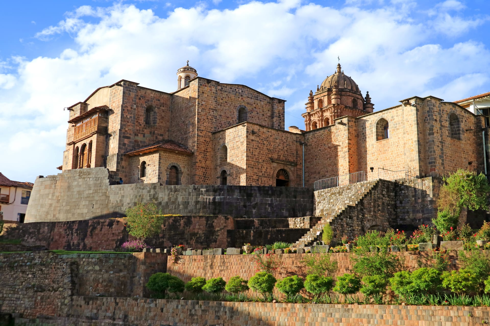 Cusco - Qorikancha: the Golden Enclosure - the Most Important Temple to the Incas in the Ancient Capital