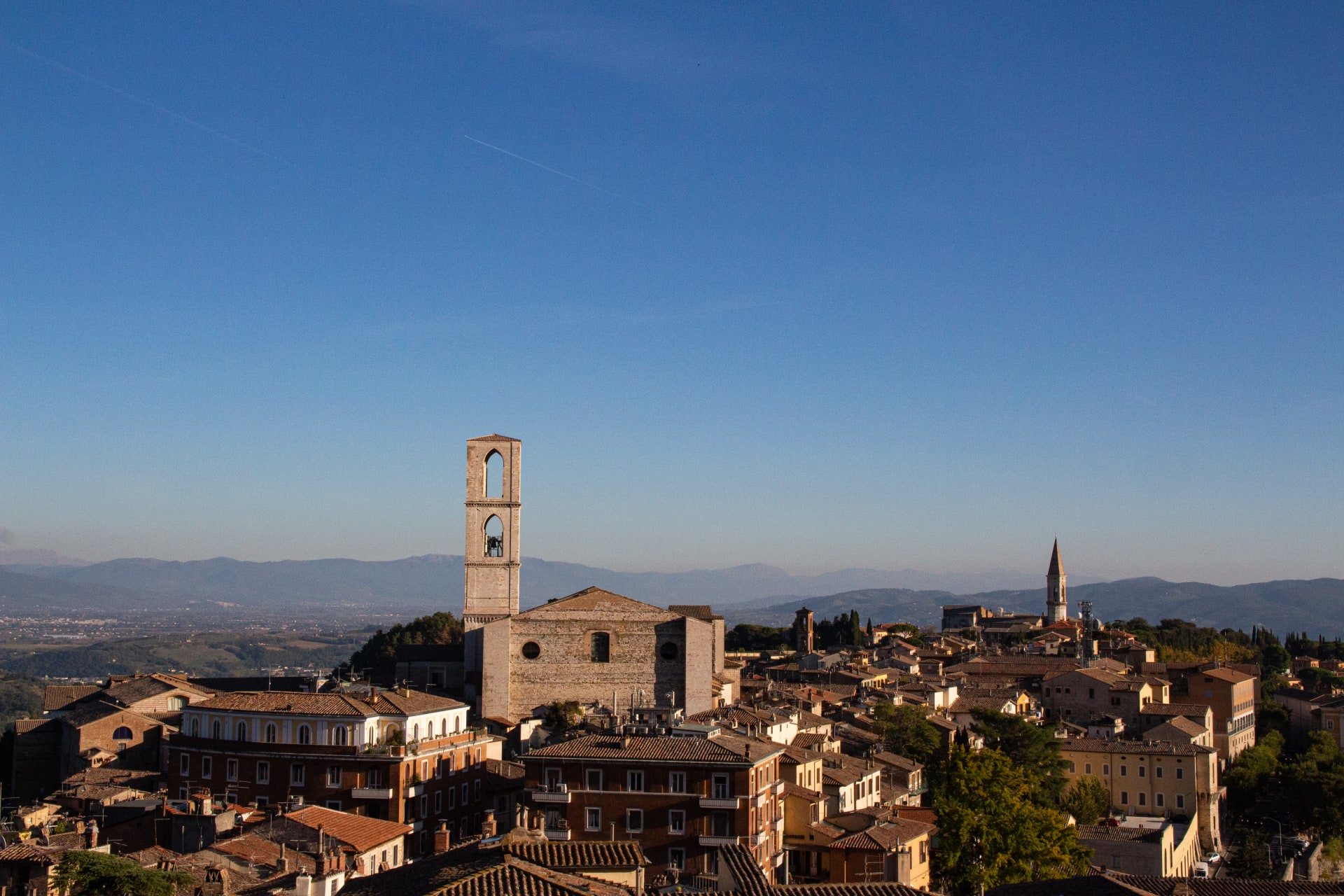 Perugia - Die Piazza und der Ausblick (PRACTICE GERMAN)