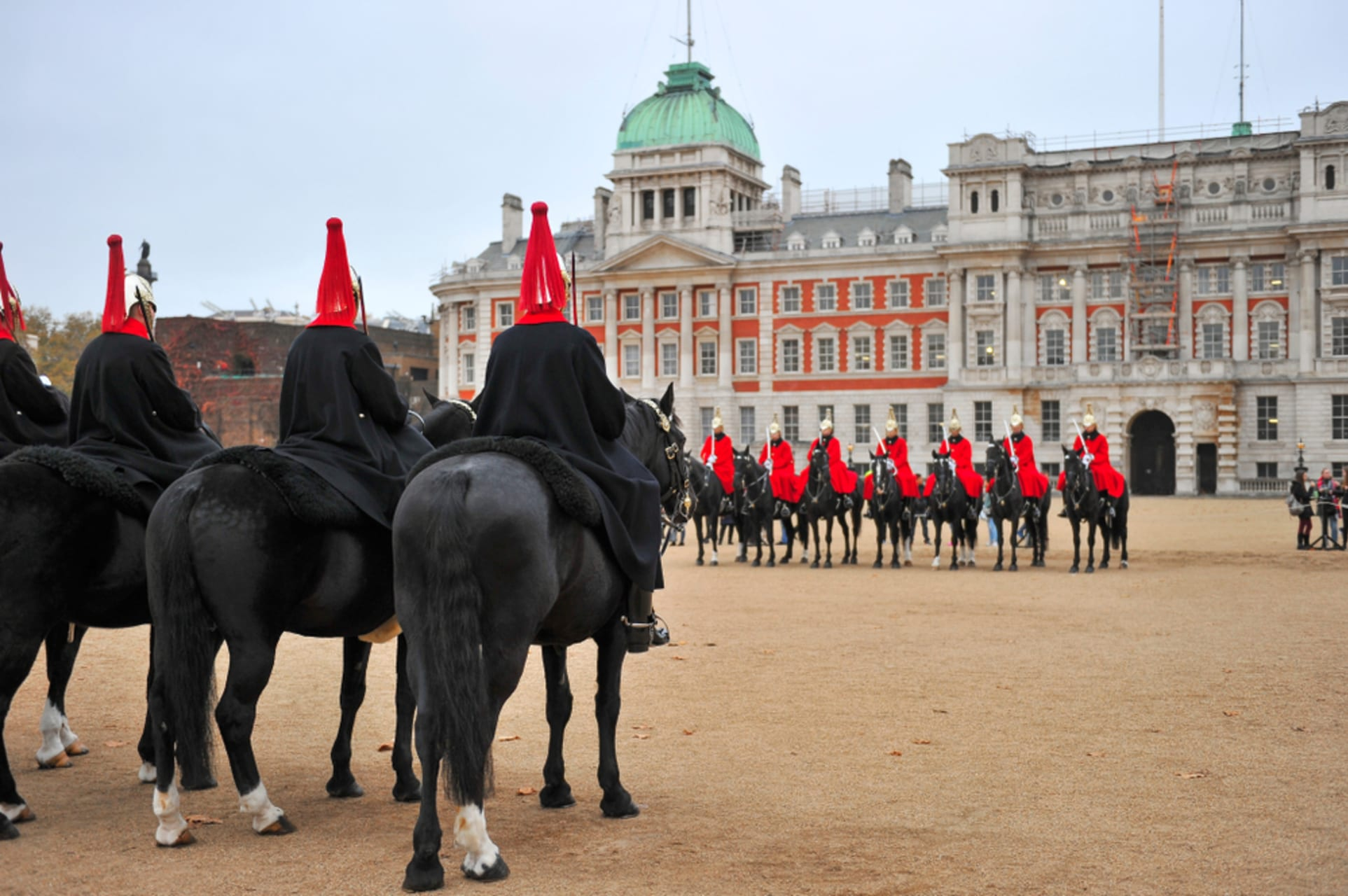 London - Changing The Queen's Life Guard - Horse Guards Parade