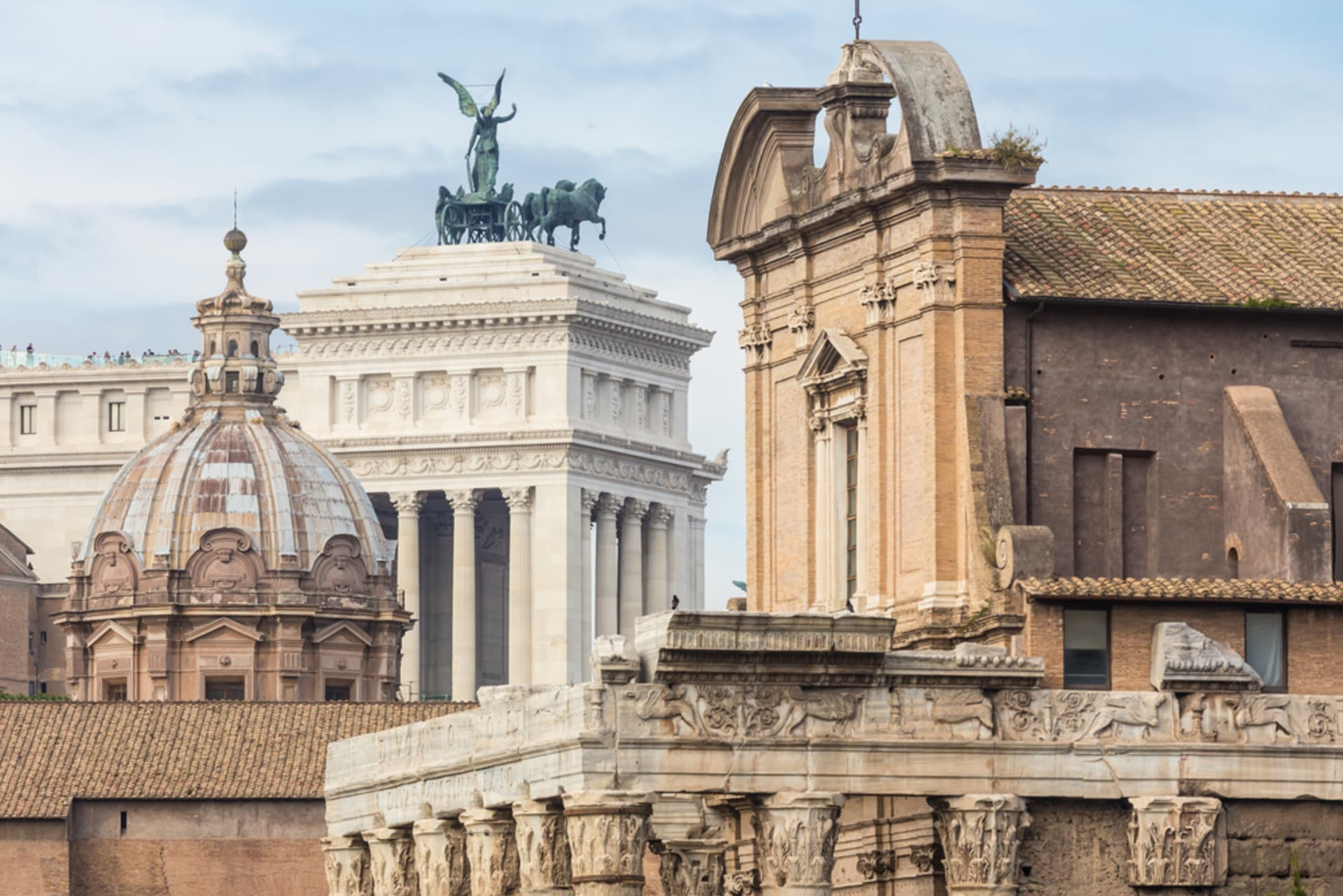Rome - Saint Joseph day Special - church of Saint Joseph and the Mamertino prison