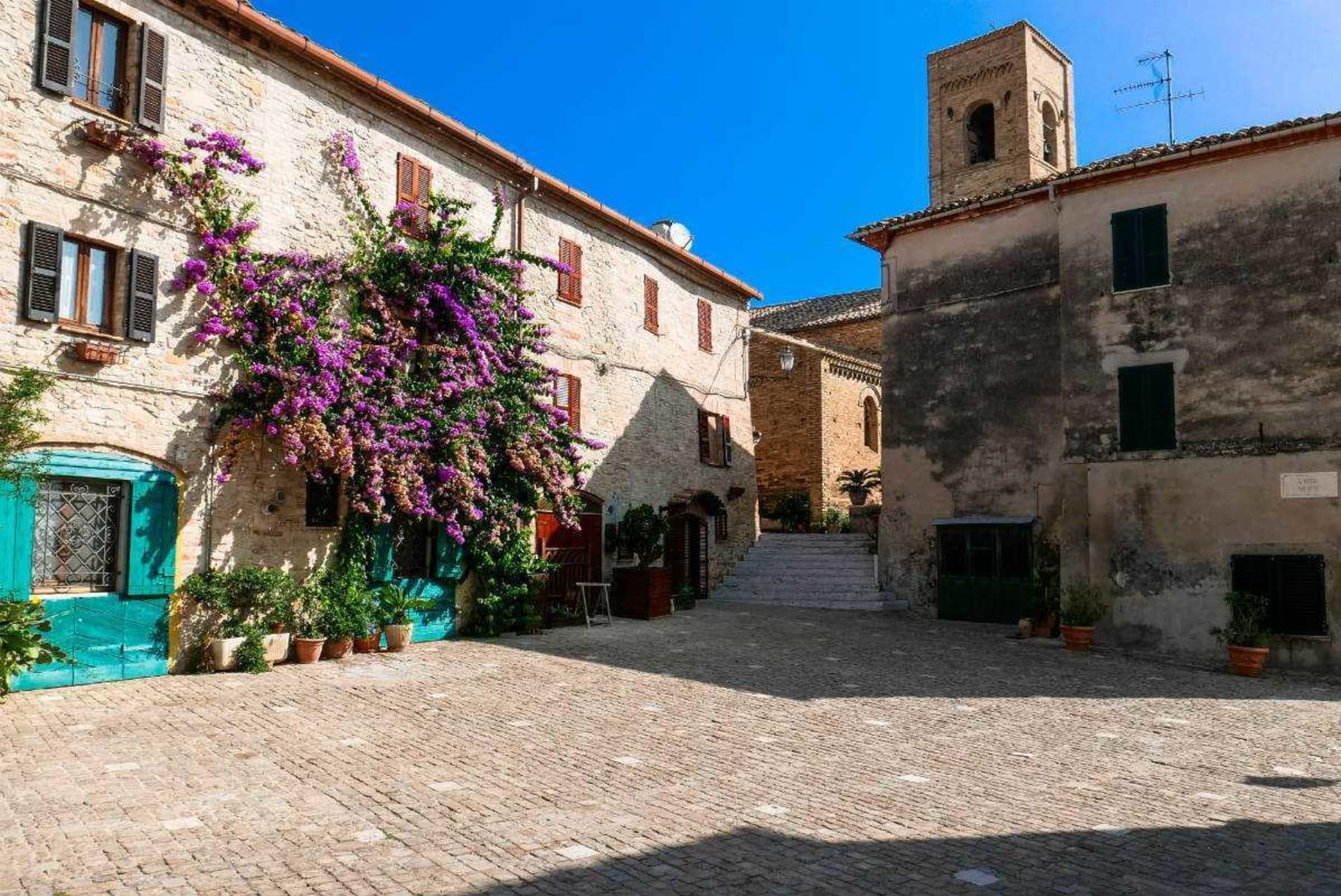 Marche - Torre di Palme, a true hidden gem on the Adriatic sea