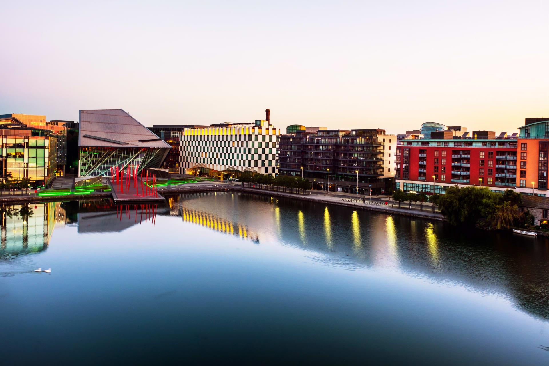 Dublin - Dublin's Docklands & Grand Canal Square