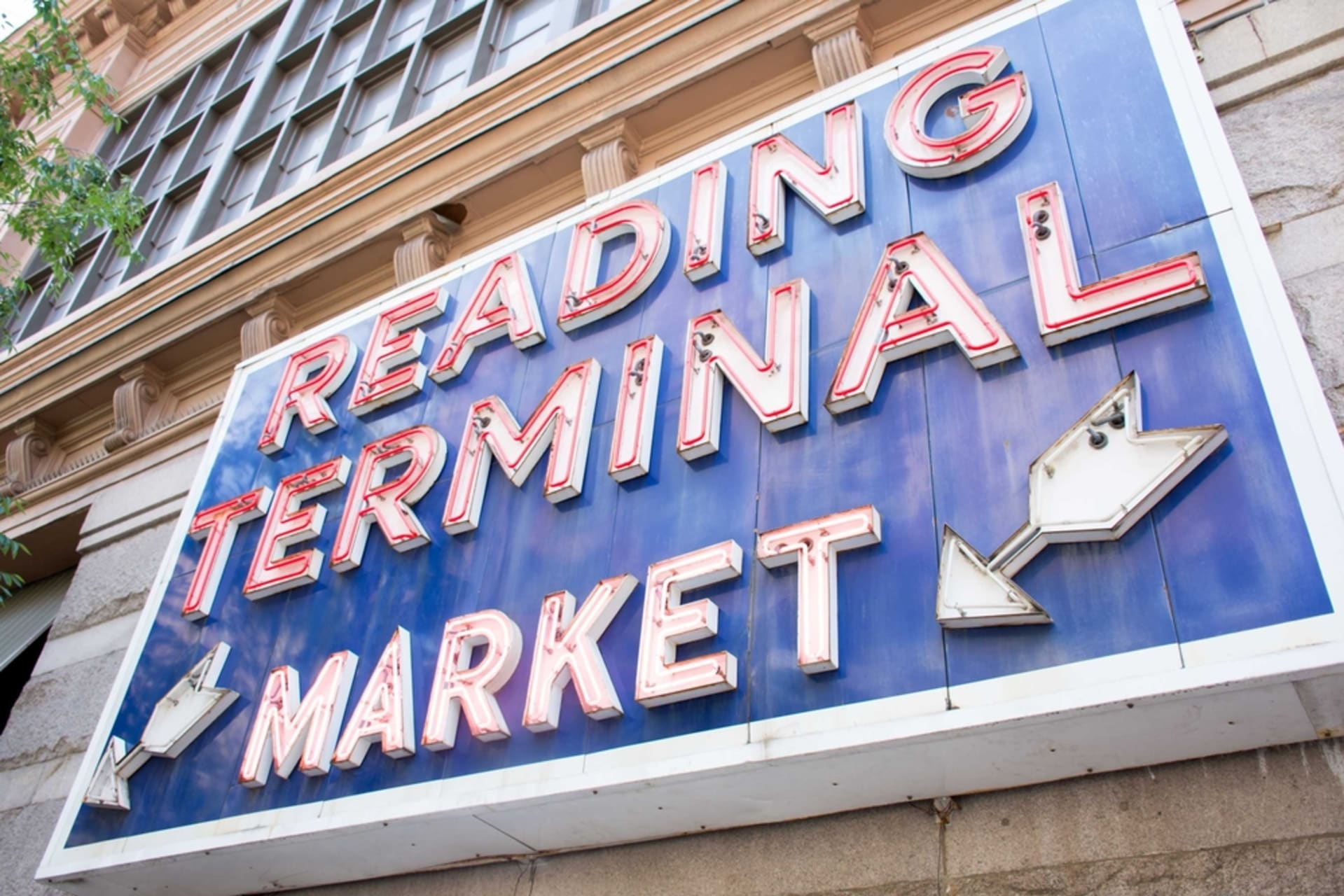 Philadelphia - Center City and Reading Terminal Market