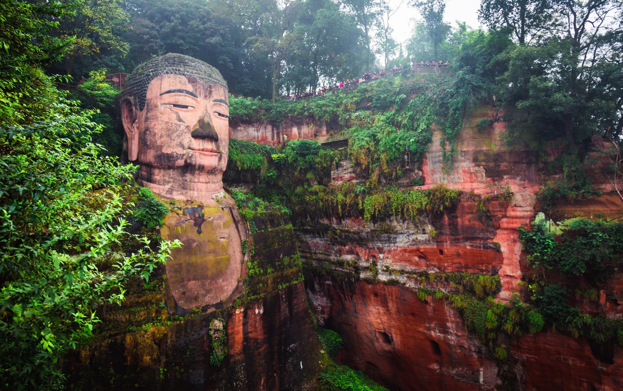 Chengdu - Leshan Giant Buddha-A UNESCO Site