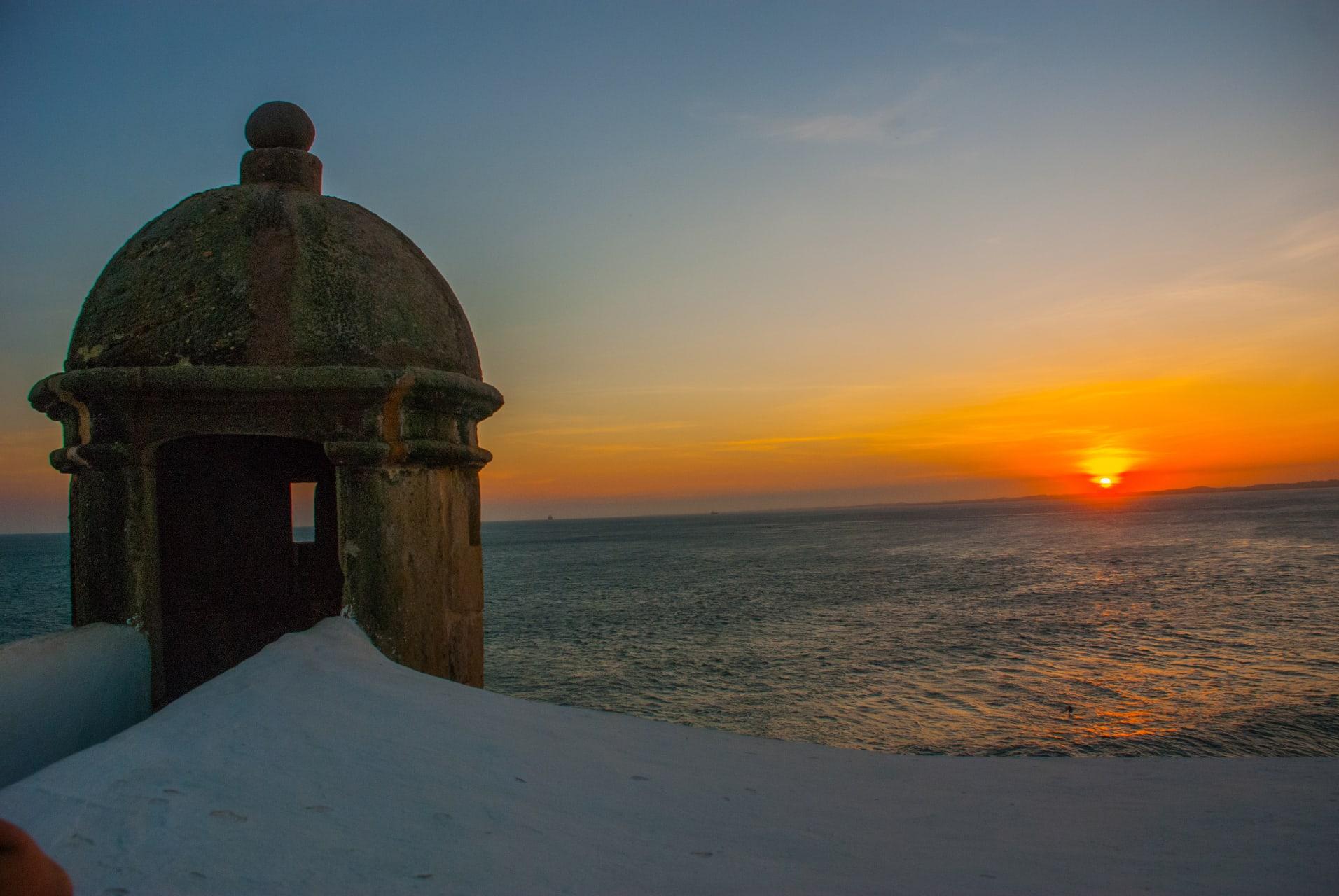 Salvador Bahia - Sunset Views in Bahia: Relaxing by the ocean