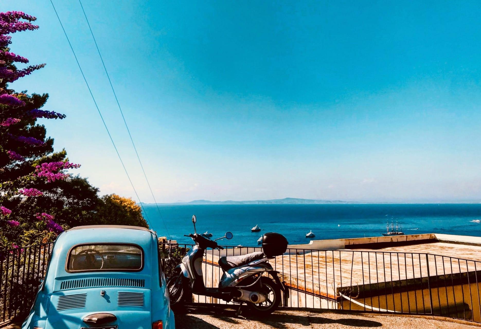 Capri Island - Capri Dolce Vita: Vespa Ride and UNESCO town