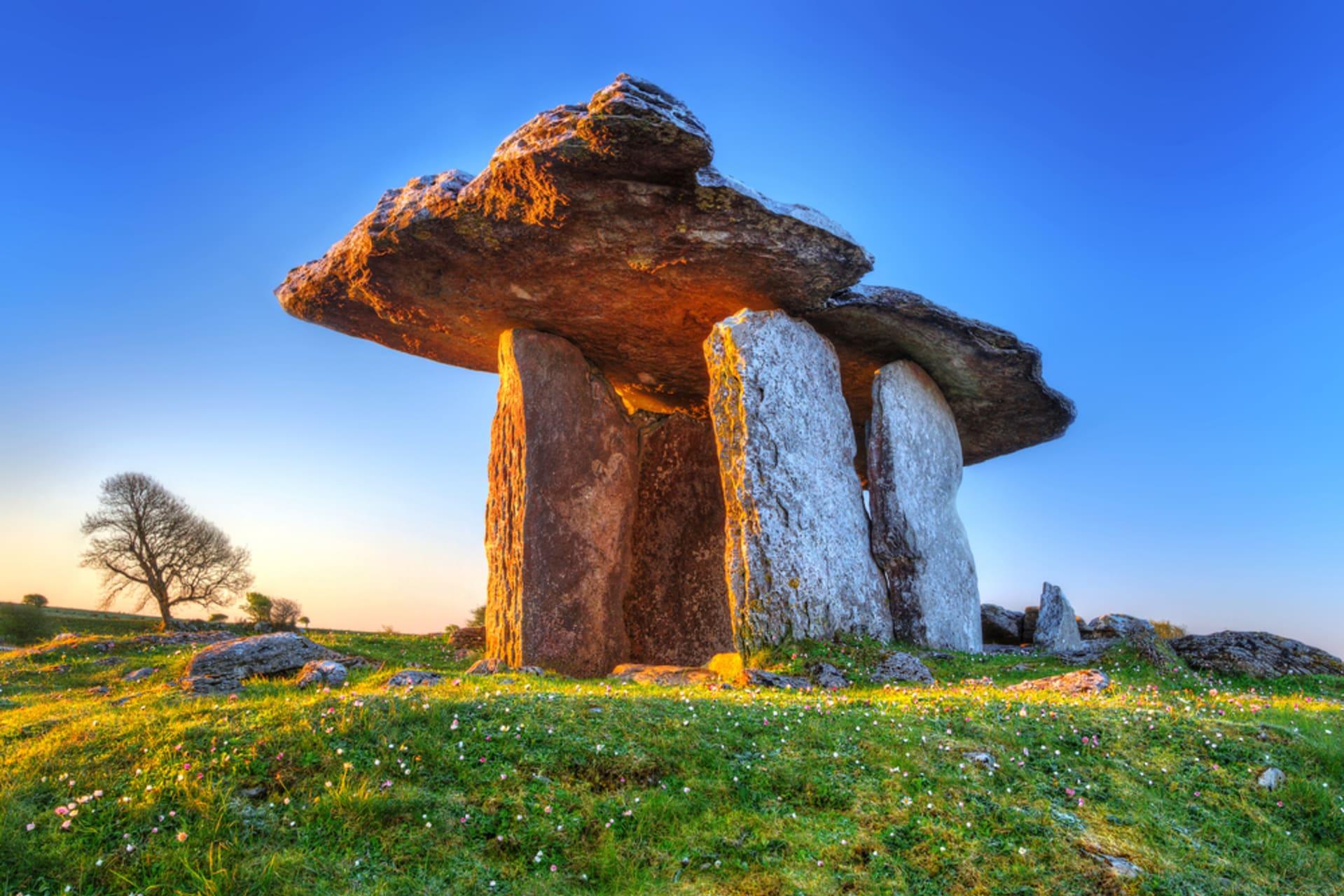 West of Ireland - Poulnabrone - Portal to Ireland 5,500 years ago