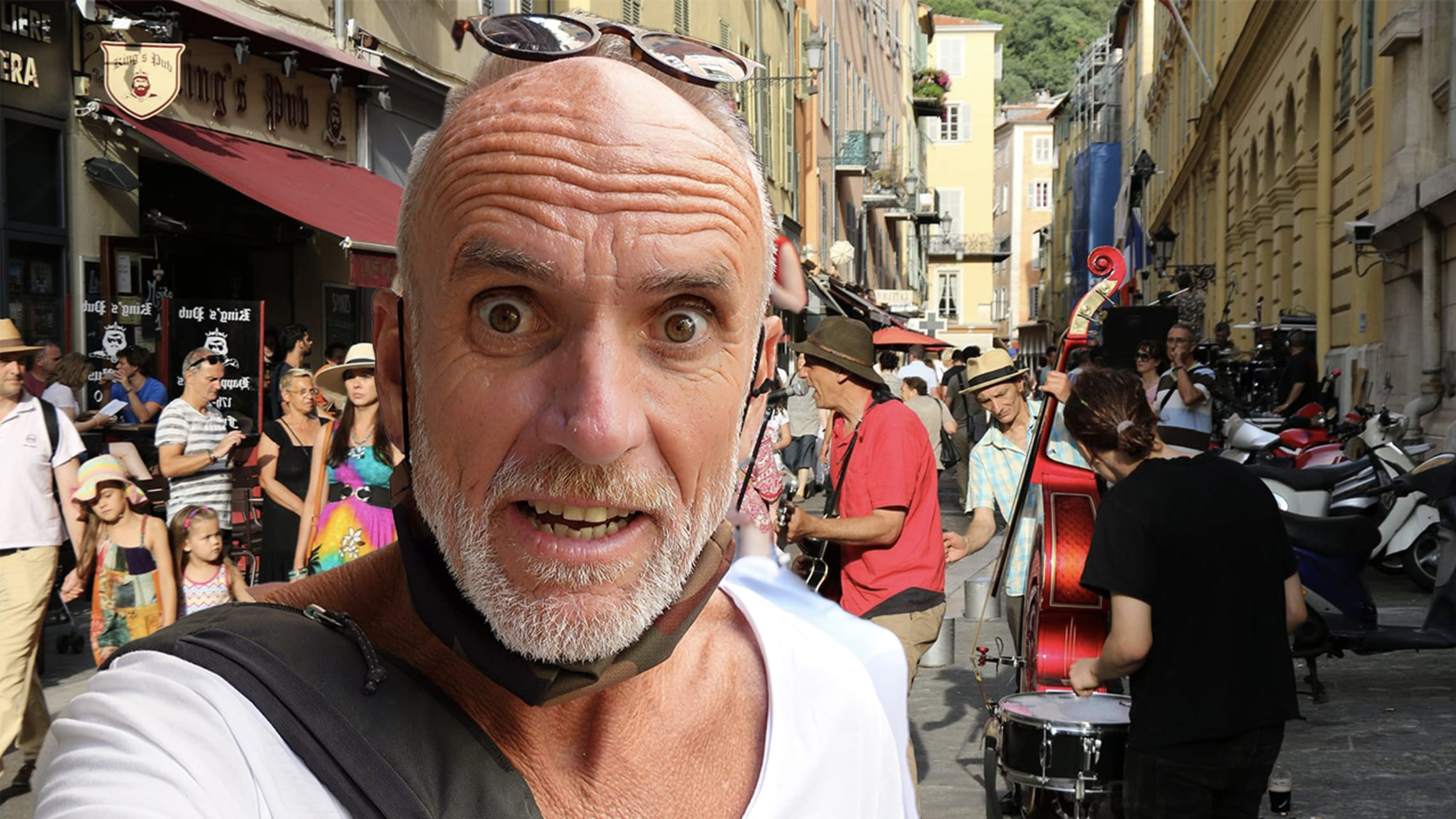French Riviera - Nice Goes Wild!  The Festival of Music turns the city into a giant party!