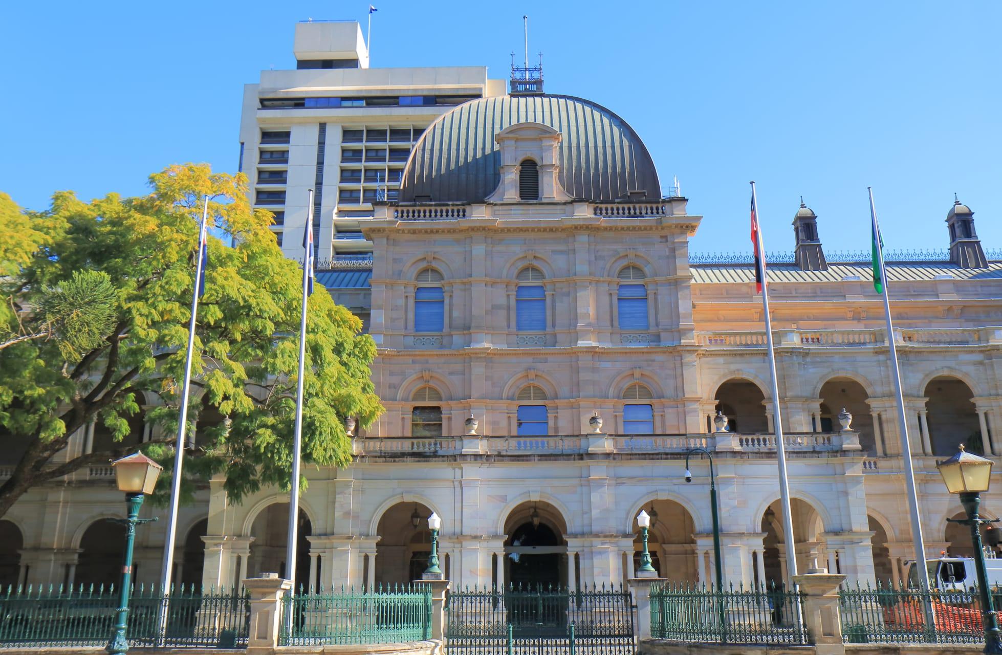 Brisbane - History and Nature in the CBD of Brisbane