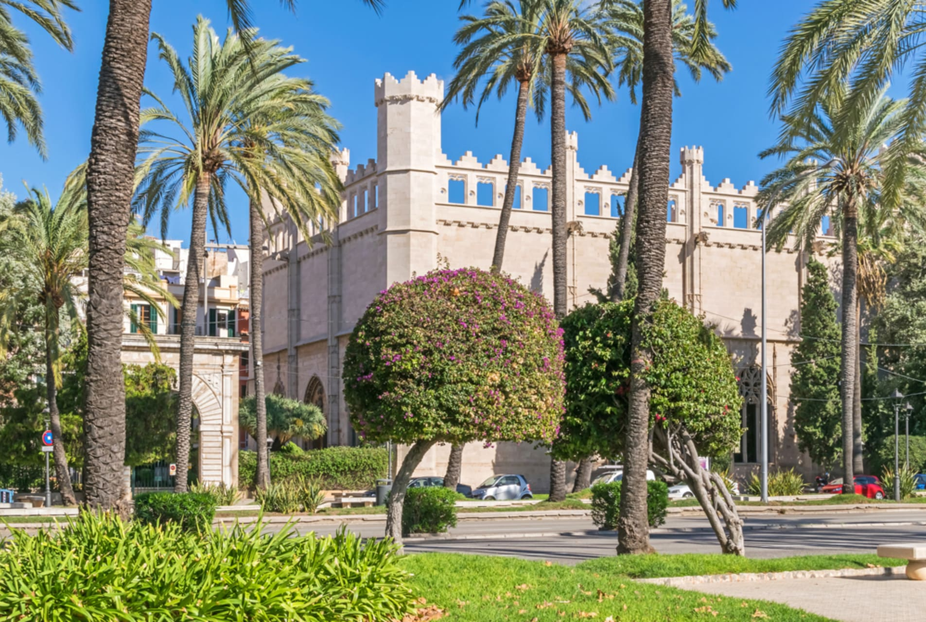 Mallorca - Palma: La LLotja Quarter - The city by the Sea