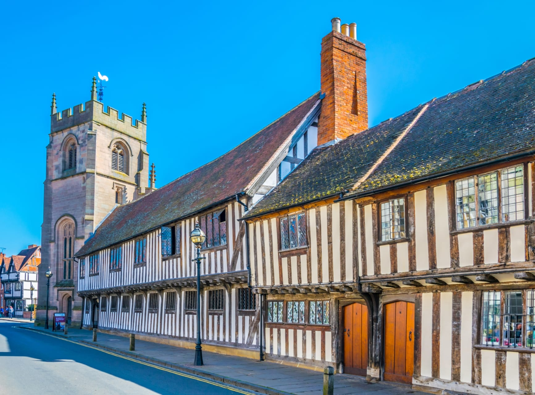 Stratford-upon-Avon - Stratford Upon Avon - Shakespeare...und mehr! (TOUR IN GERMAN)