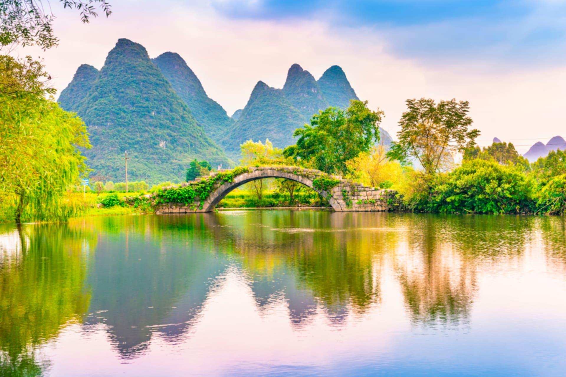 Guilin - Yangshuo County: Natural Rural Beauty
