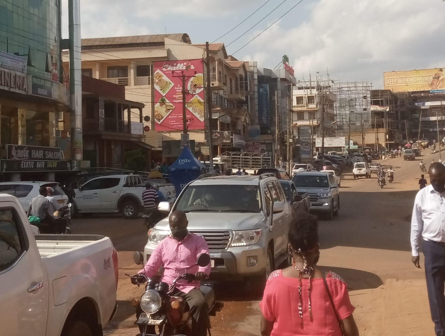 Kampala - Stretch Walking Kampala Surburbs II: Ntinda Area Lane