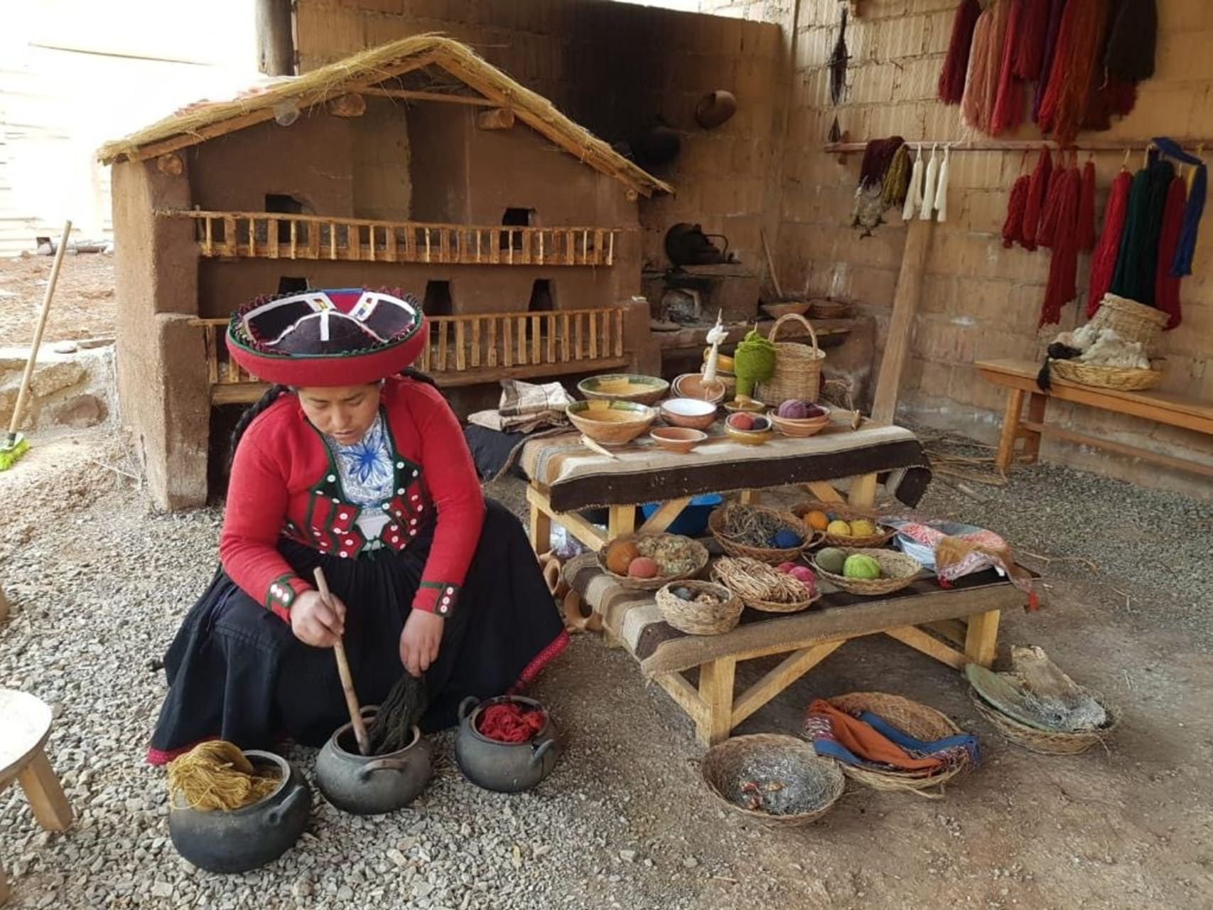 Cusco - Chincheros Incas Textile Techniques