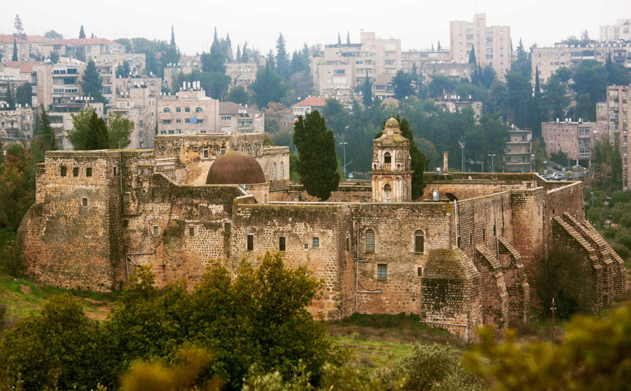 Jerusalem - From the Israeli Parliament to the Valley of the Cross