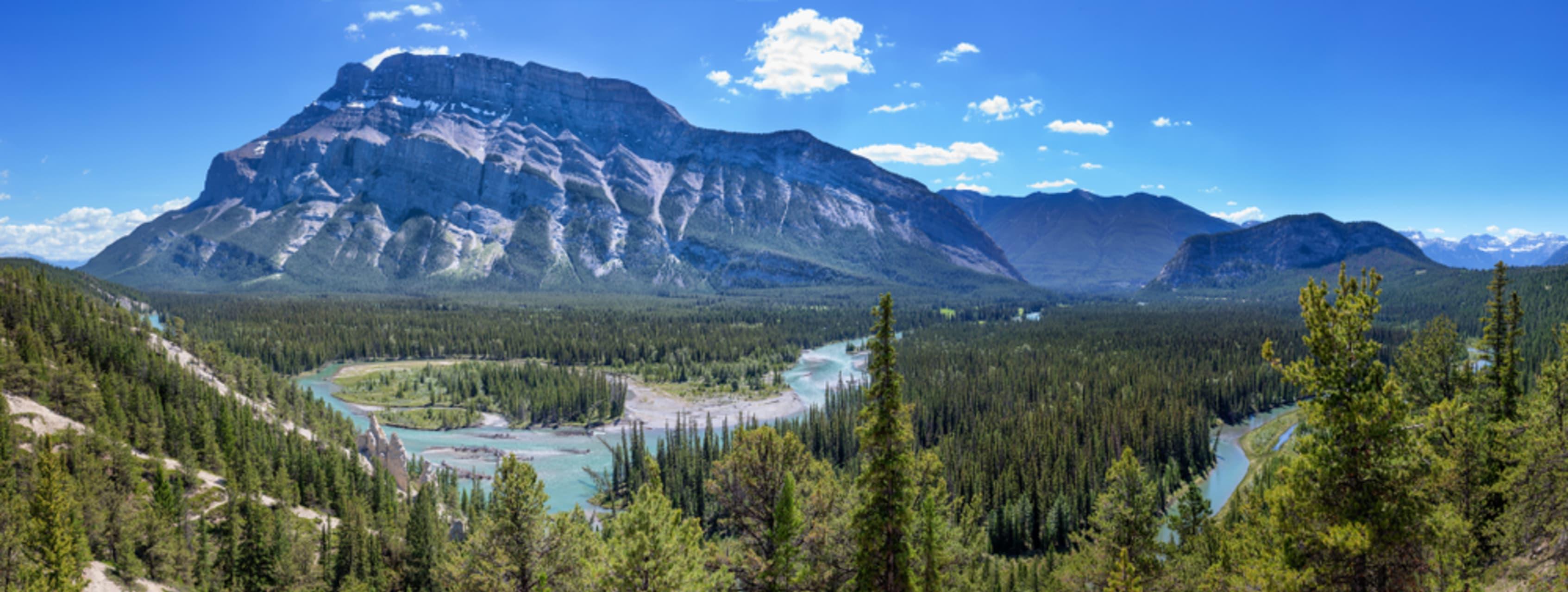 Banff - Tunnel Mountain Has No Tunnel