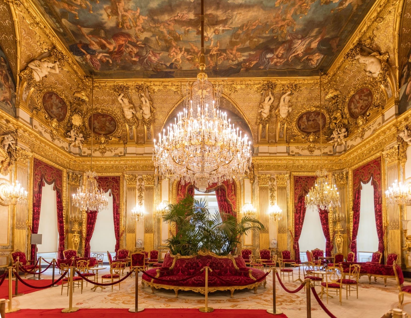Paris - Louvres: Royal and Imperial Apartment