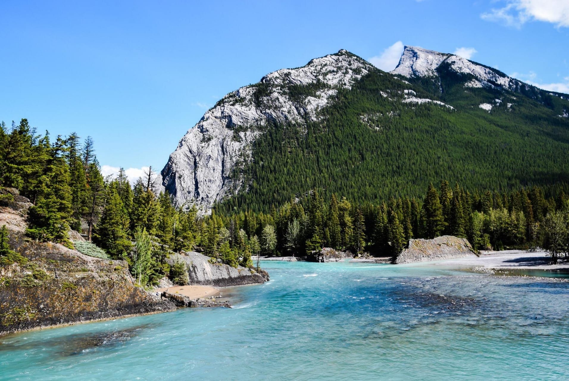 Banff - The Unique Shade of Blue of the Bow River